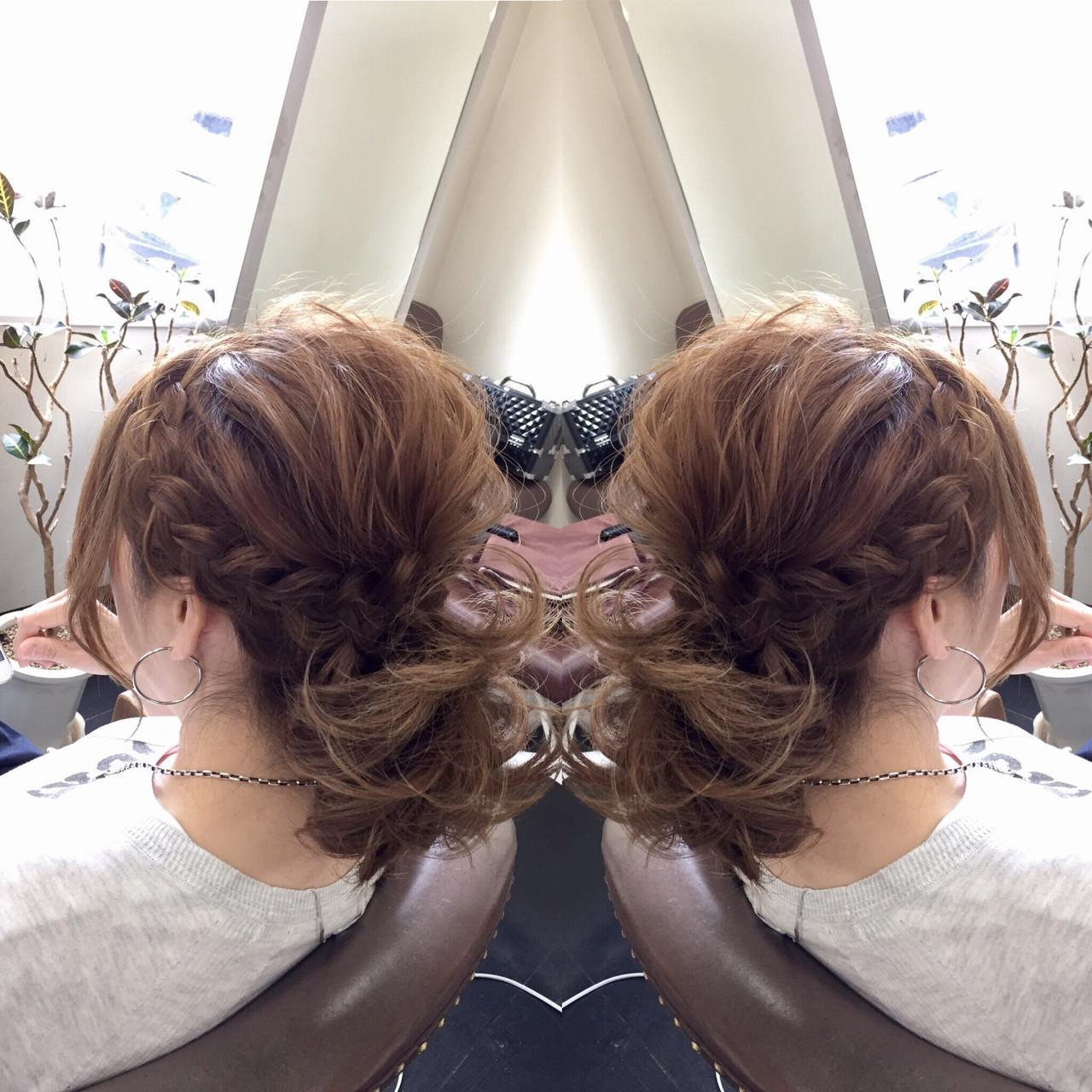かわいい ゆるふわ フェミニン ヘアアレンジヘアスタイルや髪型の写真・画像