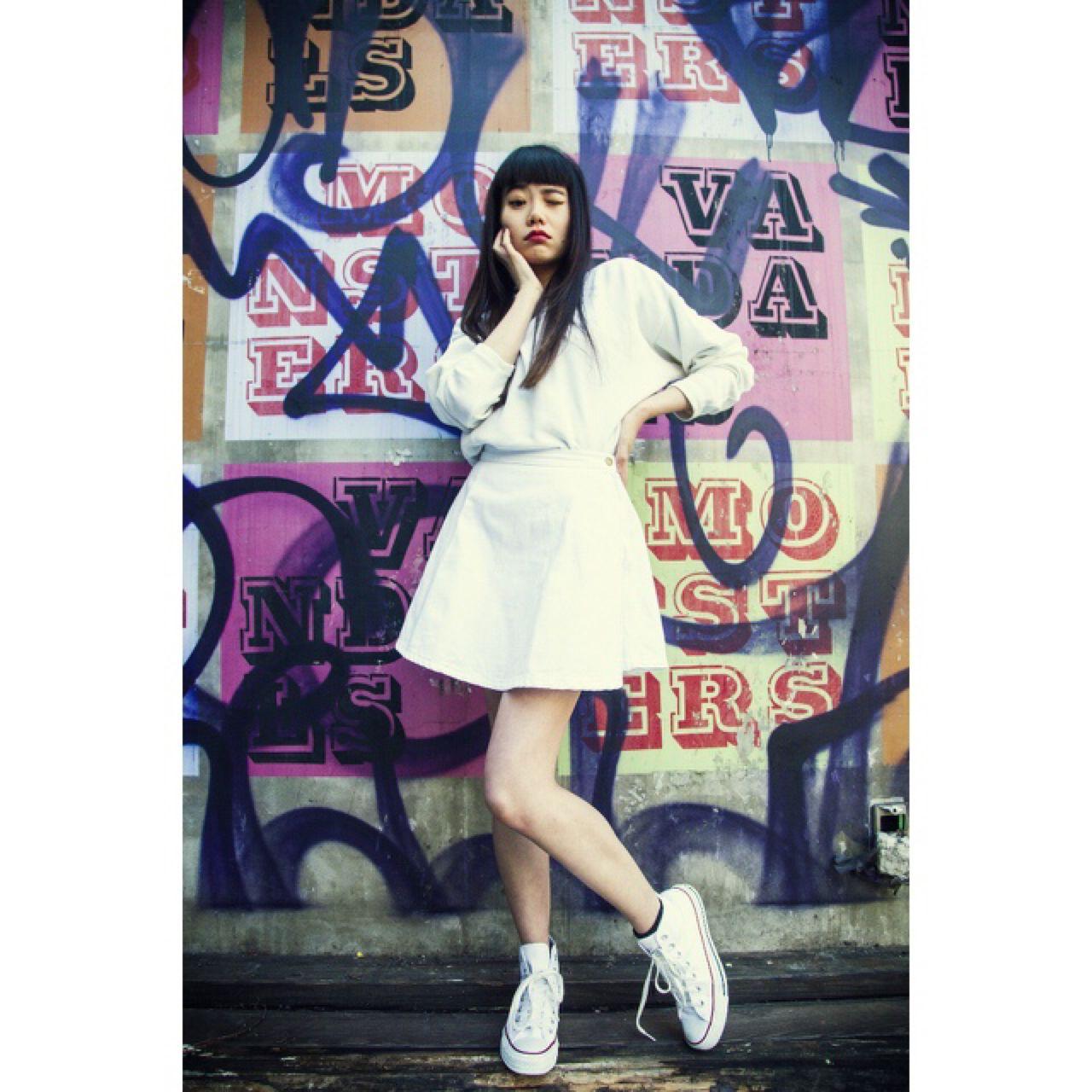 春 ロング ストリート パンク ヘアスタイルや髪型の写真・画像 | 松田亮葉 《JENO》 / JENO