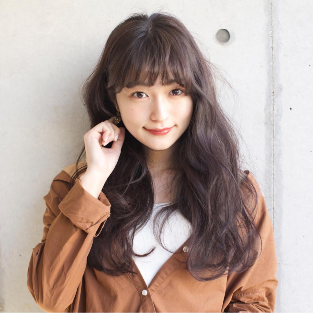 アウトドア ロング リラックス デート ヘアスタイルや髪型の写真・画像 | 佐脇 正徳 / LOAVE AOYAMA(ローヴ アオヤマ)