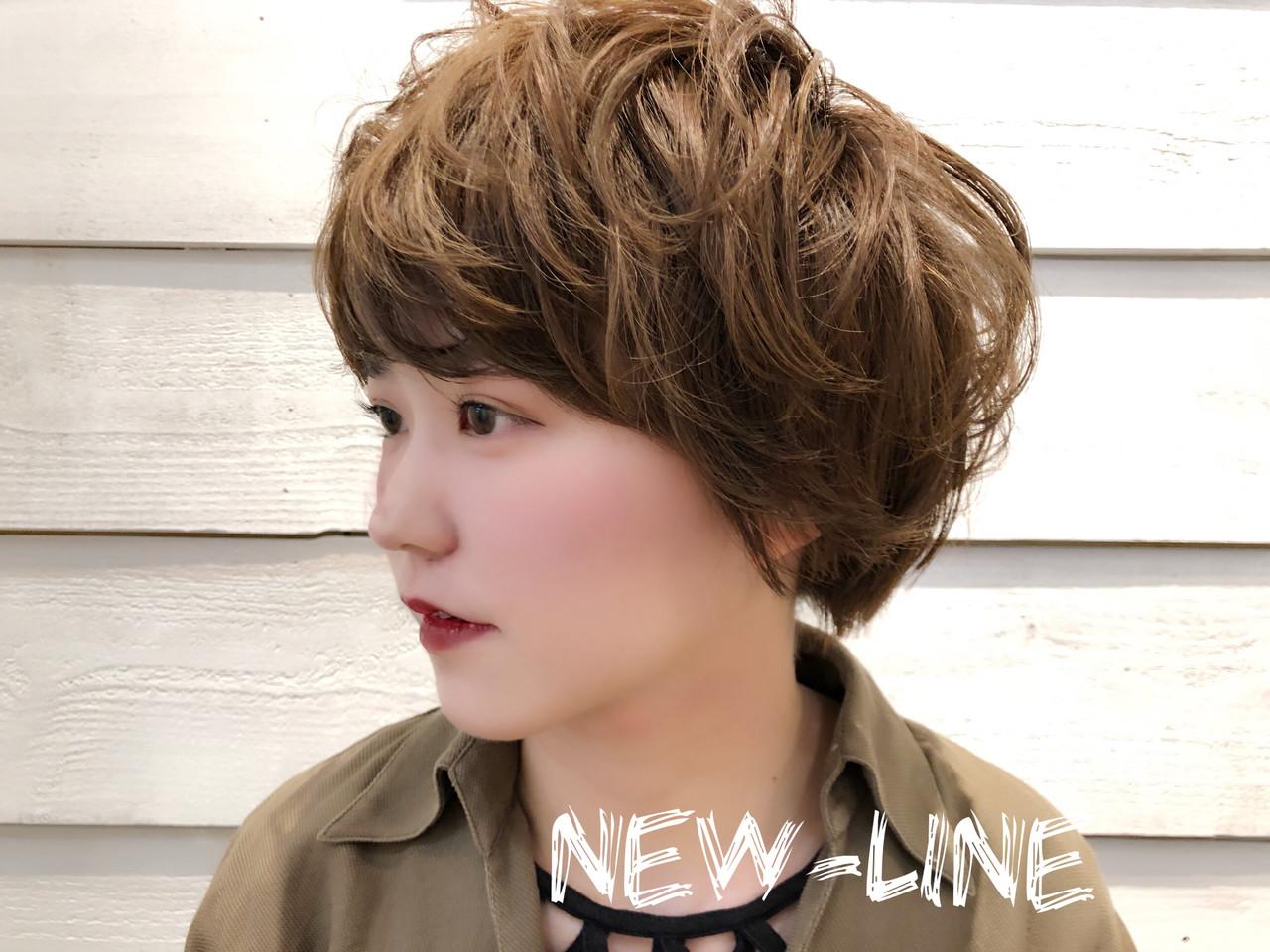 ベージュ 大人かわいい 外国人風 ヘアアレンジ ヘアスタイルや髪型の写真・画像 | YUKA / NEWLINE