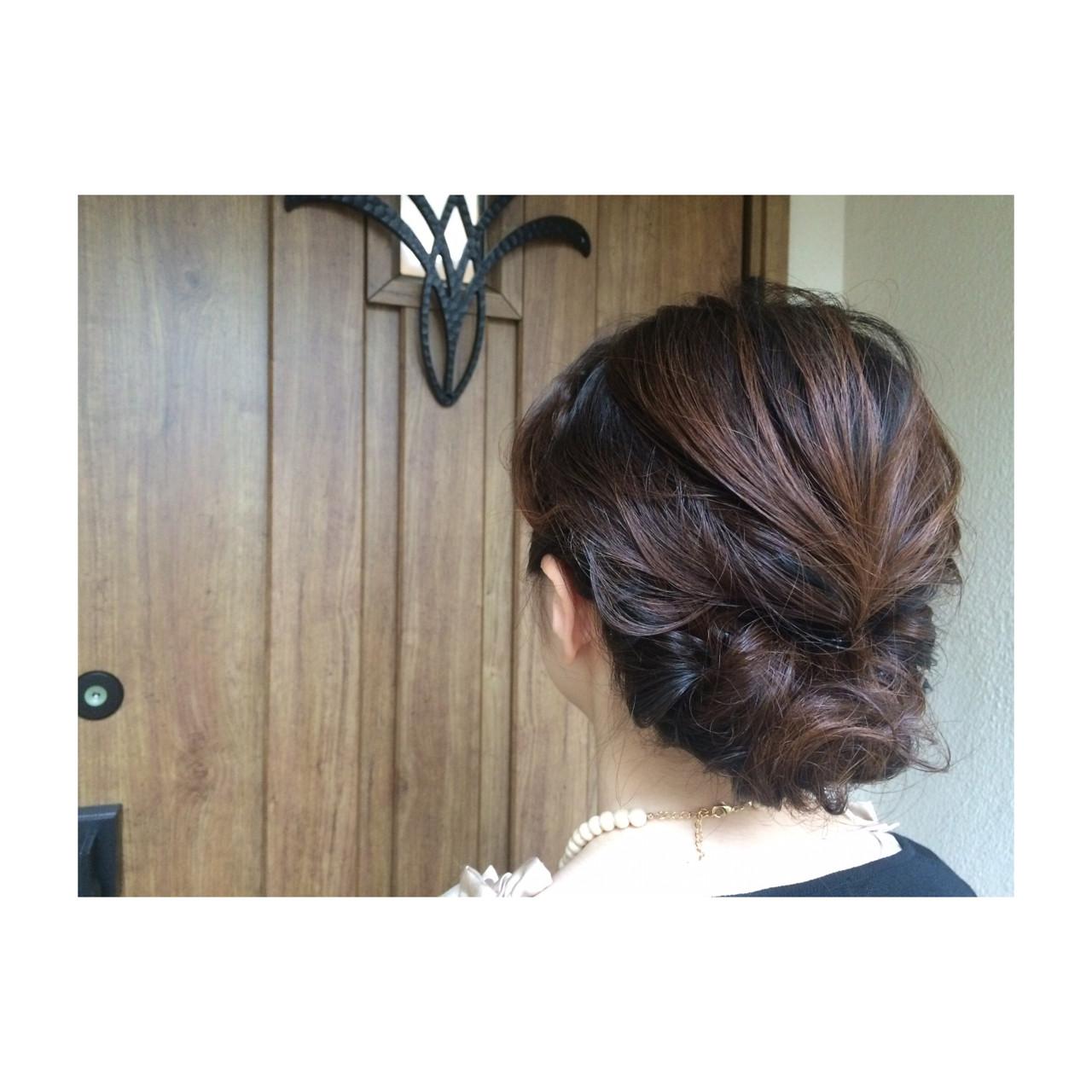 ヘアアレンジ ボブ フェミニン ショート ヘアスタイルや髪型の写真・画像 | 田中千枝子/大阪のショート・ボブ♡ / BELO  OSAKA(ベロ 大阪)