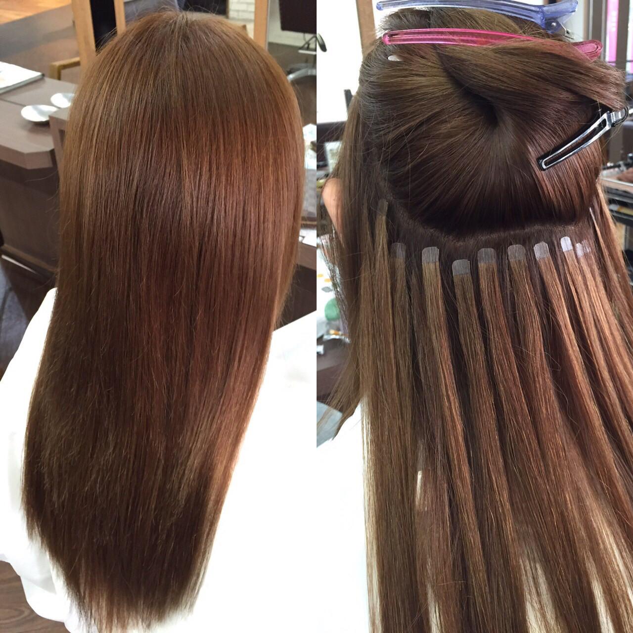 エクステでショートからロングに劇的チェンジ!付け毛スタイル集めました 高山清冠 / vifkrone hair&beauty