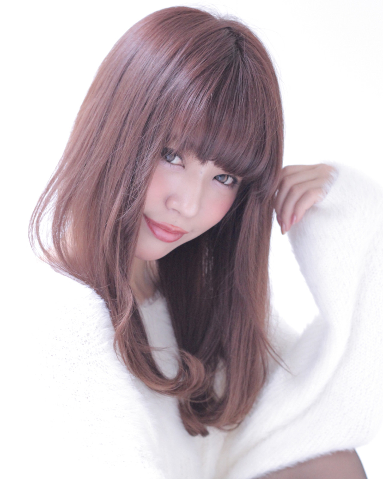 アッシュ ナチュラル 暗髪 外国人風 ヘアスタイルや髪型の写真・画像 | 石田 学史 / DISHEL