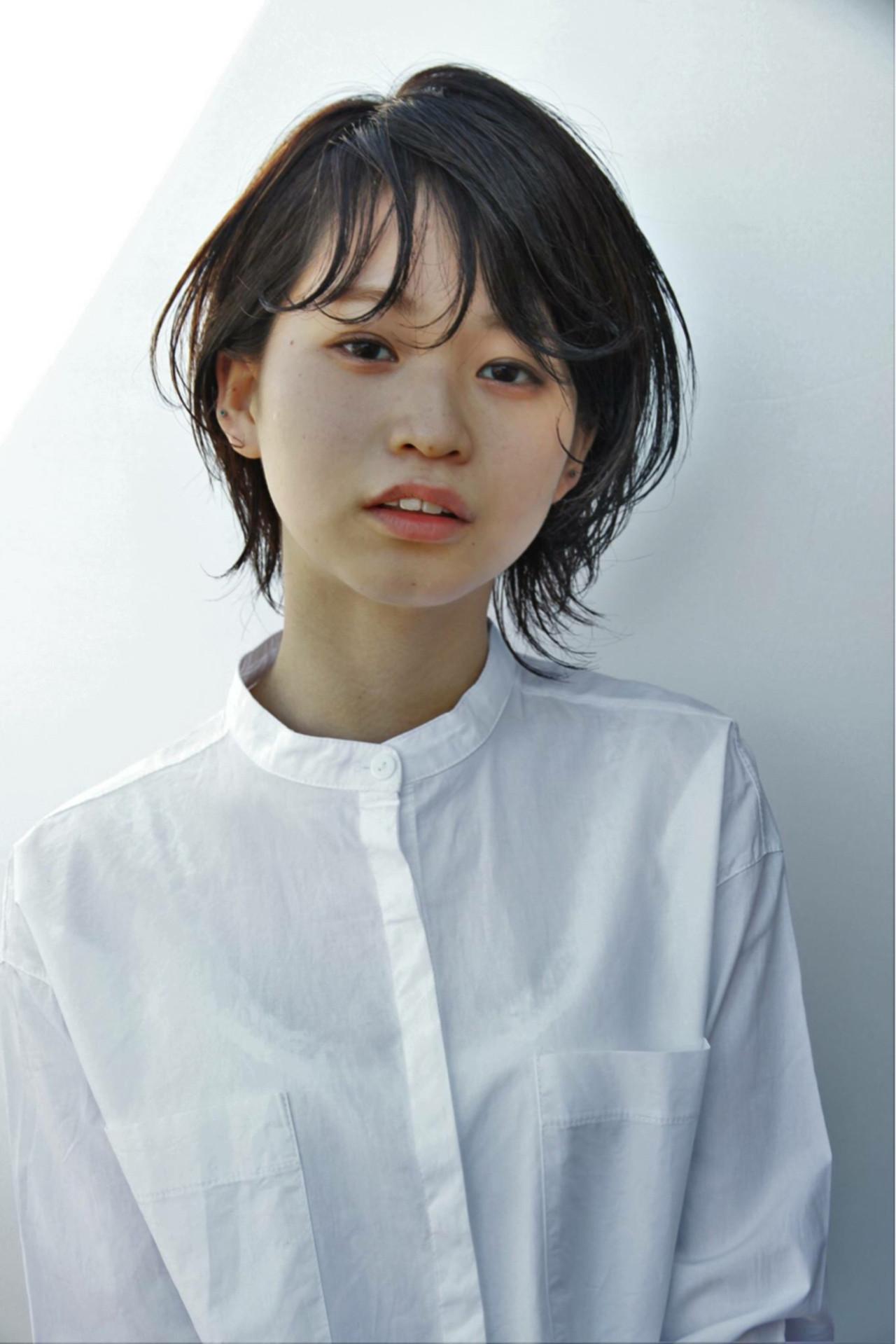 【スタイル特集】印象派美人になれる髪型=黒髪ショート×パーマスタイル? 栗原鉄平