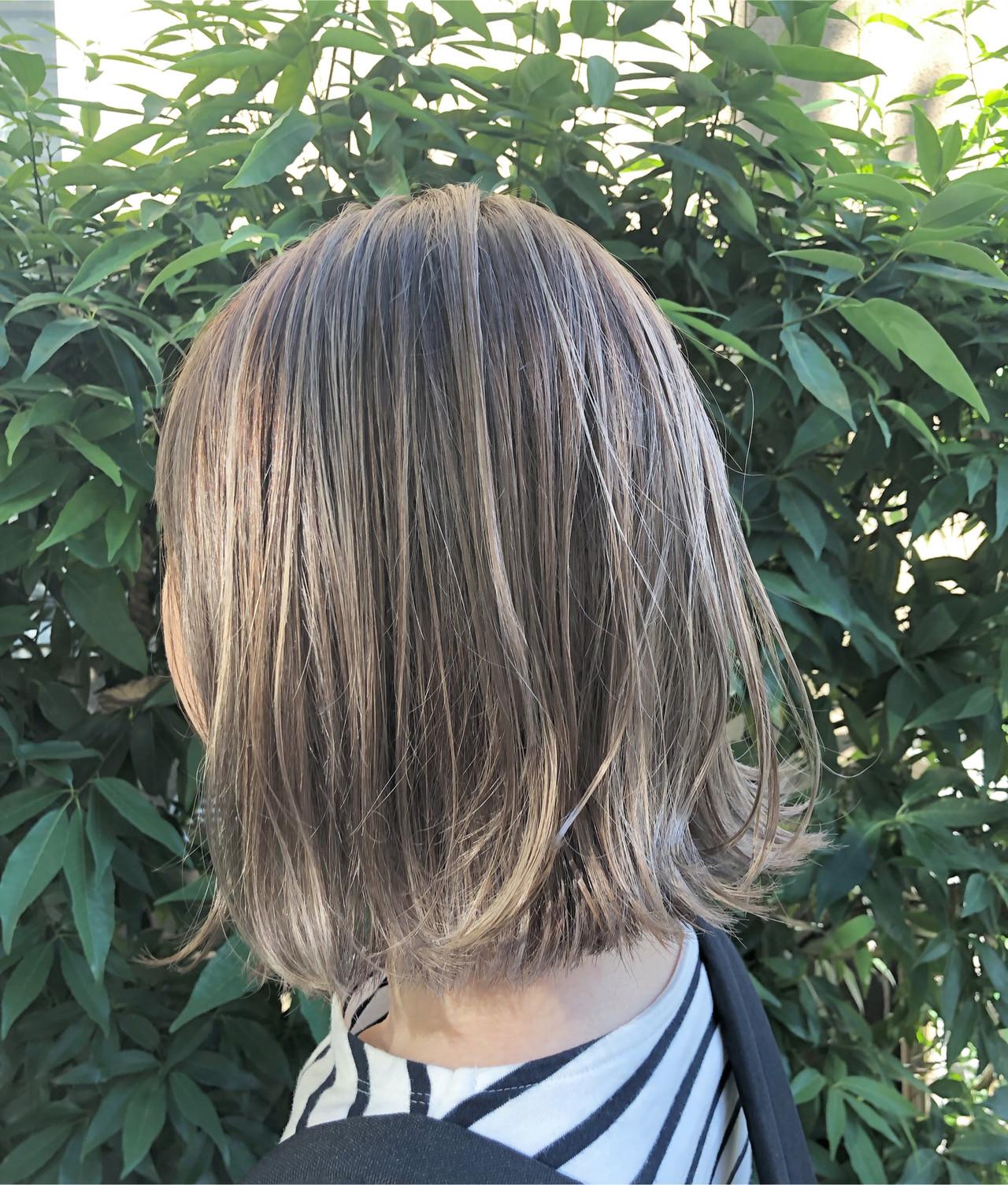 グラデーションカラー ユニコーンカラー ボブ インナーカラー ヘアスタイルや髪型の写真・画像 | RUMINA //高田ゆみこ / Rumina