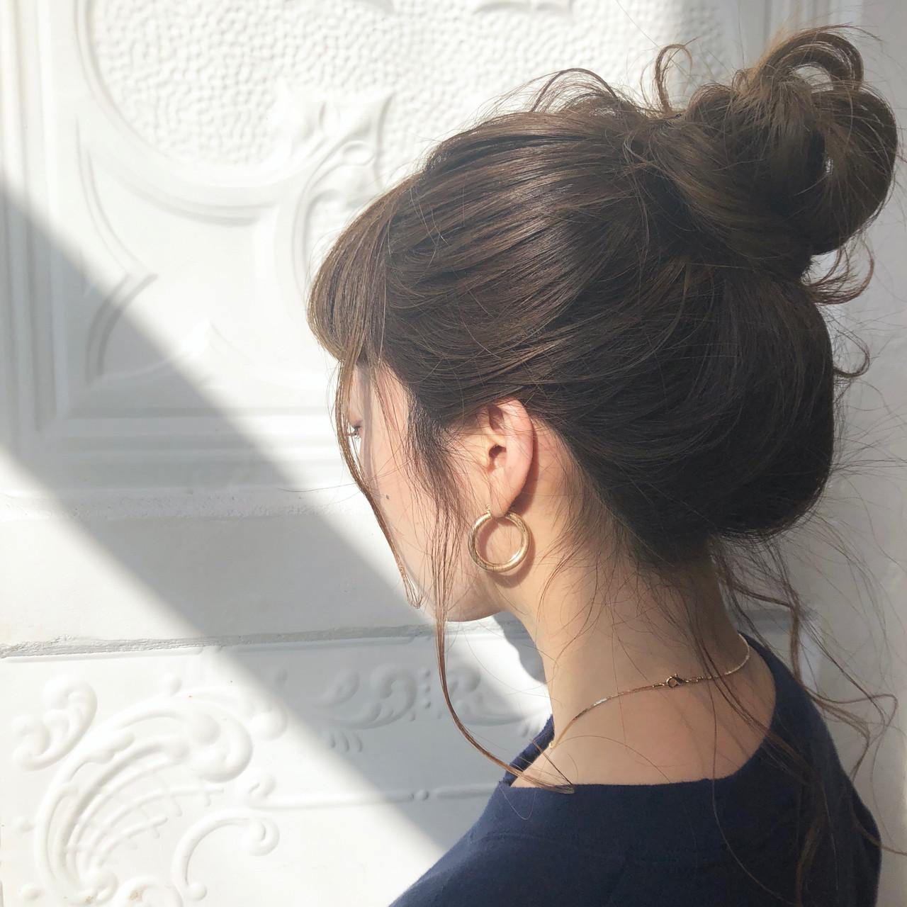 アウトドア 簡単ヘアアレンジ デート ナチュラル ヘアスタイルや髪型の写真・画像 | 児玉善央 / GARDEN harajuku