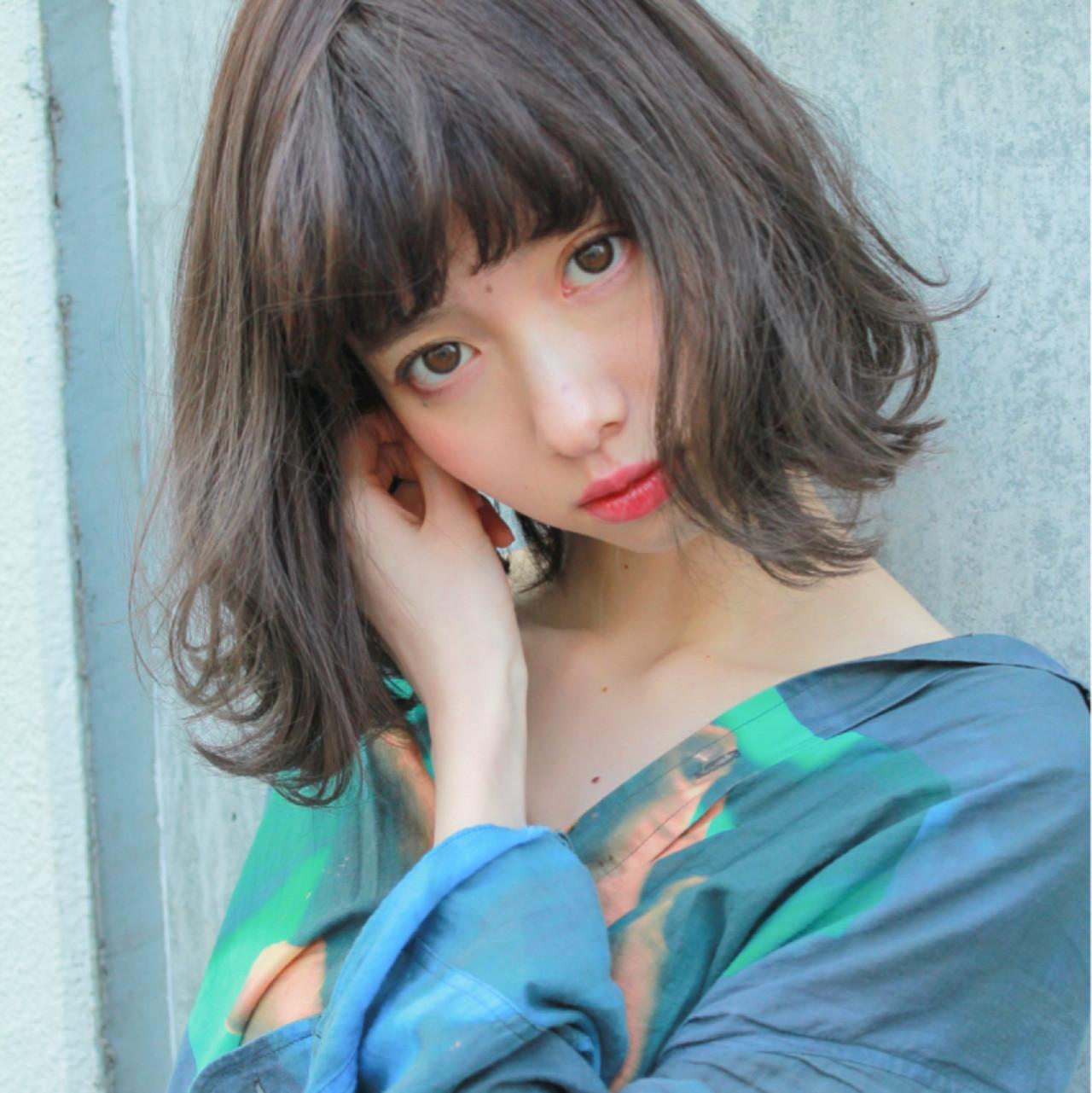 ボブ 透明感 ナチュラル 色気 ヘアスタイルや髪型の写真・画像   山崎直輝 / LIPPS銀座