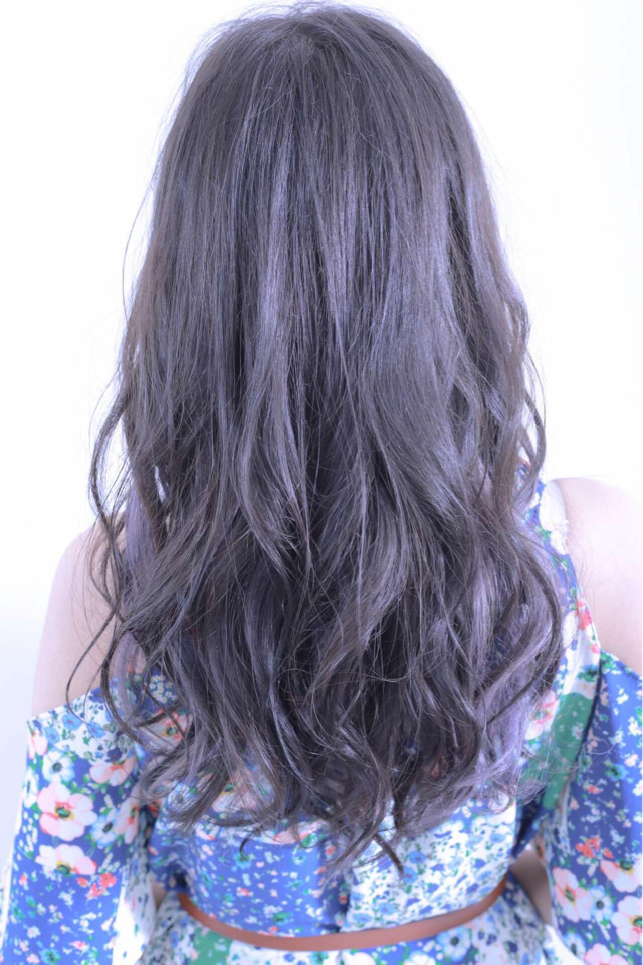 ラベンダー 外国人風 スモーキーカラー ピュア ヘアスタイルや髪型の写真・画像 | 伊藤 裕貴 / LOAOL上小田井店