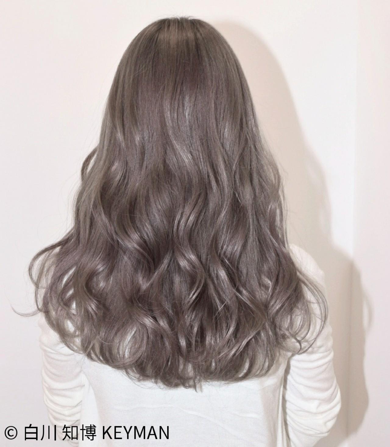 ストリート 秋 セミロング ウェーブ ヘアスタイルや髪型の写真・画像 | 白川 知博 / KEYMAN