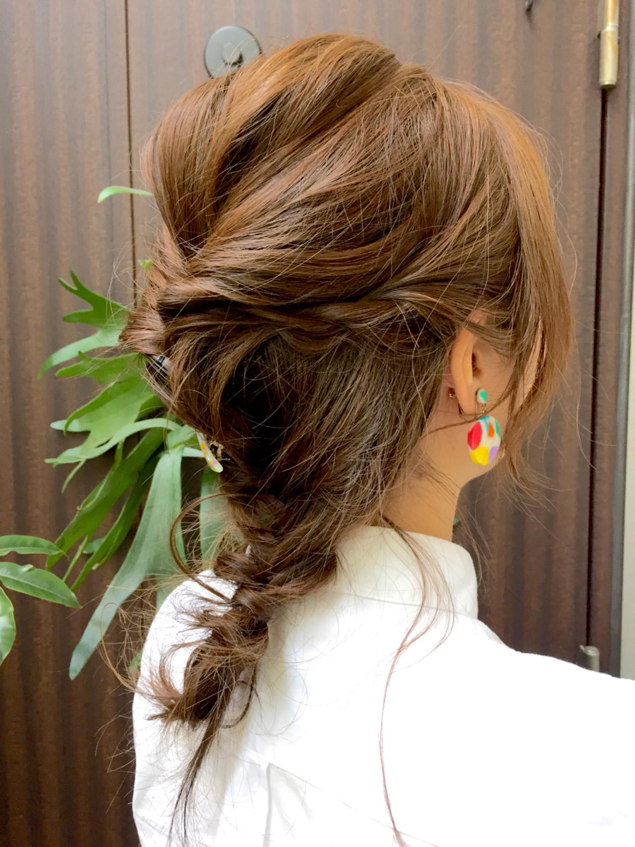 ハイライト セミロング ショート 夏 ヘアスタイルや髪型の写真・画像 | 荒岡 真由美 / パドドゥリュクス