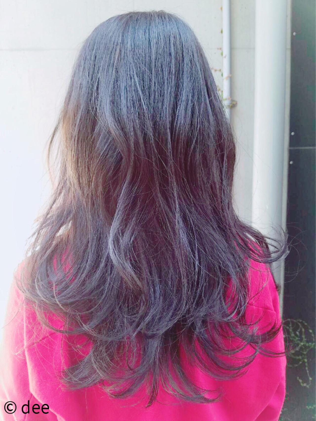 ラベンダーピンク ピンク ラベンダー パープル ヘアスタイルや髪型の写真・画像 | dee / dee