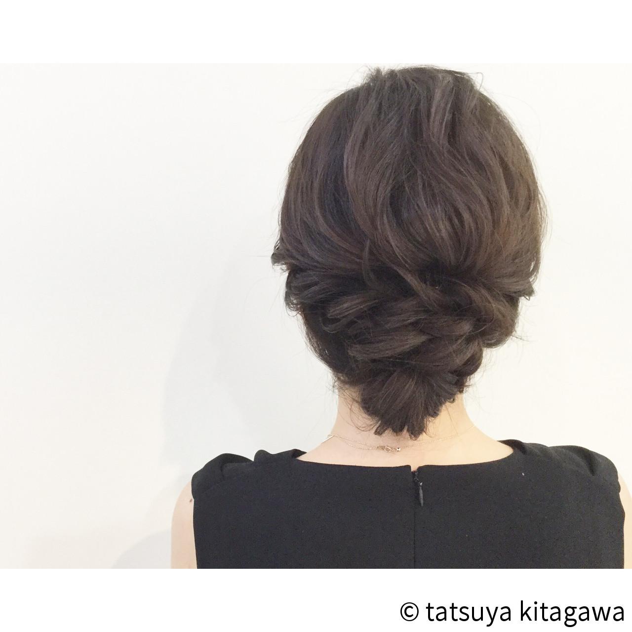 ヘアアレンジ 花嫁 外国人風 エレガントヘアスタイルや髪型の写真・画像