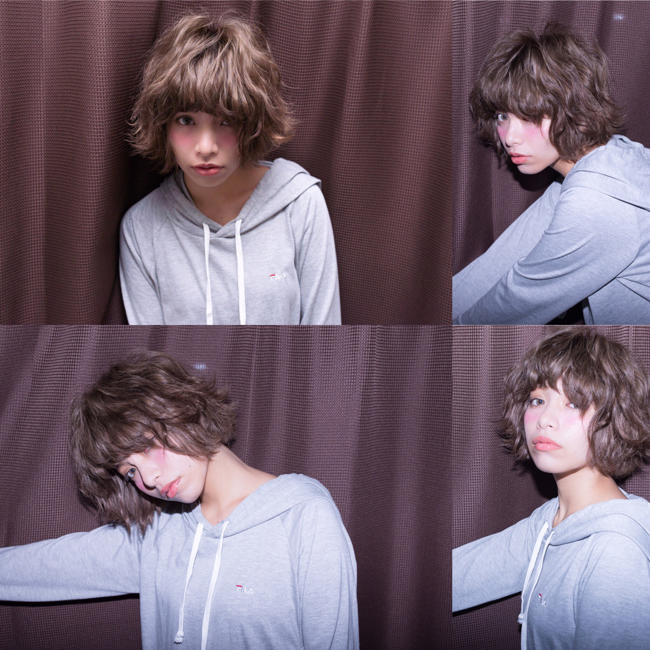 色気 ストリート 冬 パーマ ヘアスタイルや髪型の写真・画像 | ken / le jardin attrait【アトレ】茅ヶ崎