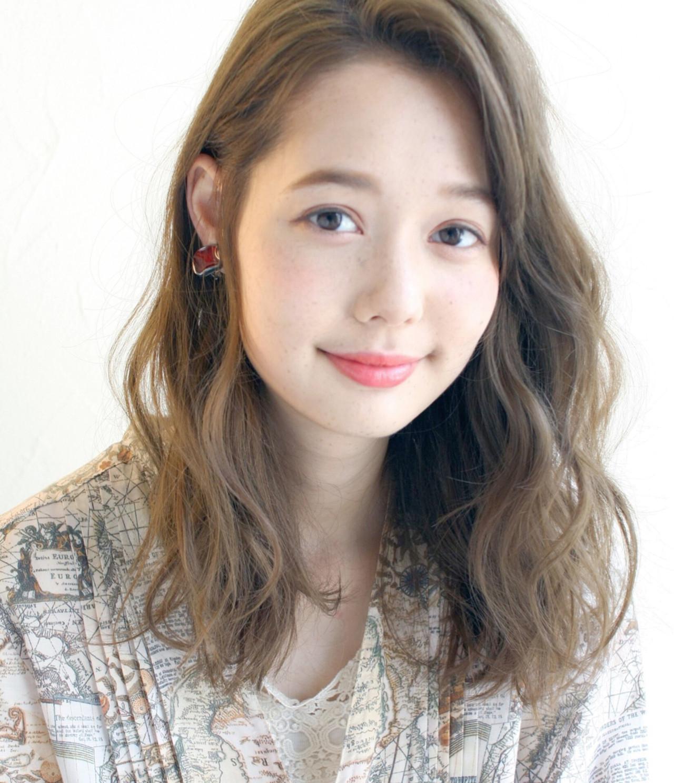 ナチュラル デート アンニュイ 冬 ヘアスタイルや髪型の写真・画像 | Mirai / enntaku