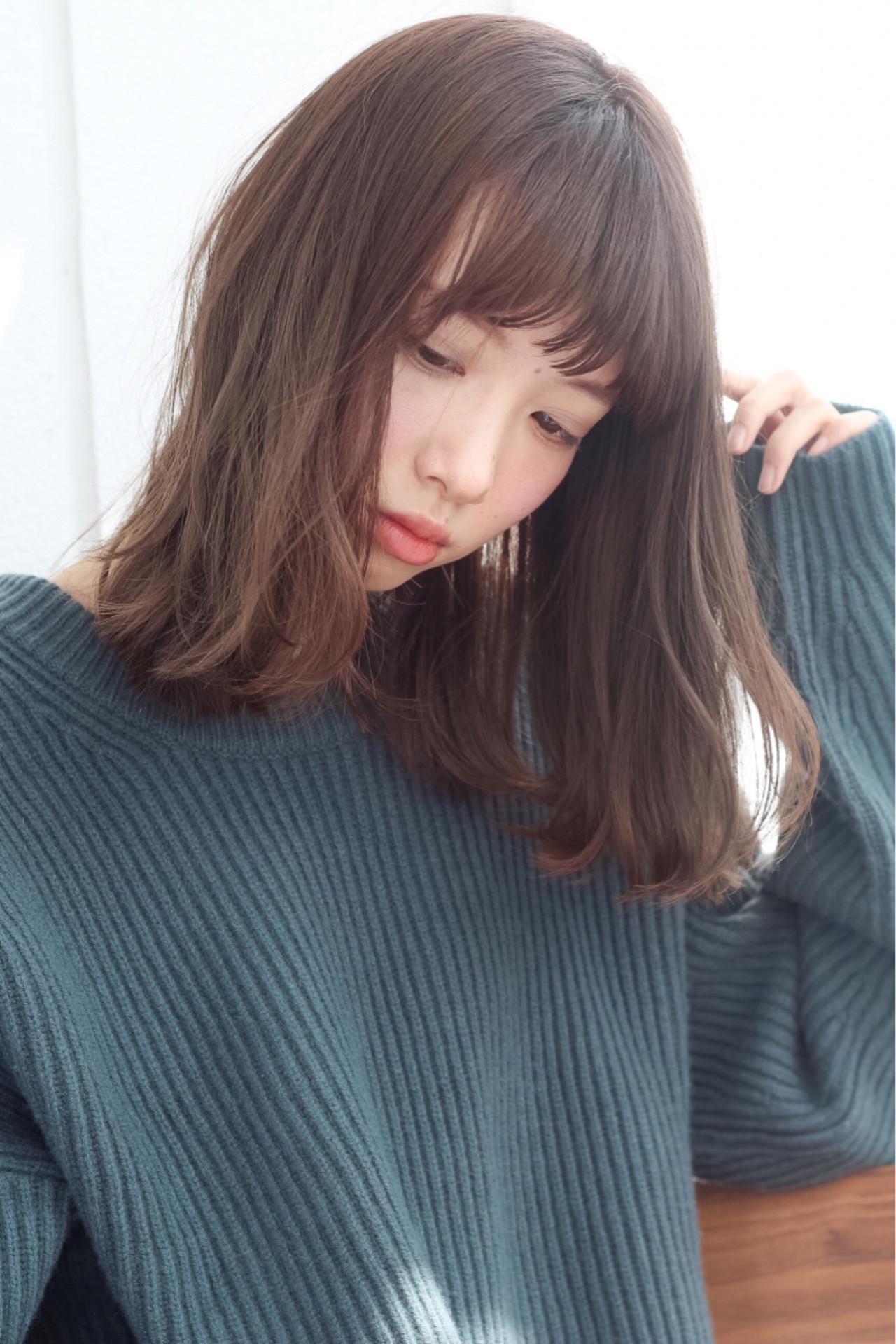 黒髪 大人女子 ガーリー 小顔 ヘアスタイルや髪型の写真・画像 | lora.garden 細田真吾 / lora.garden