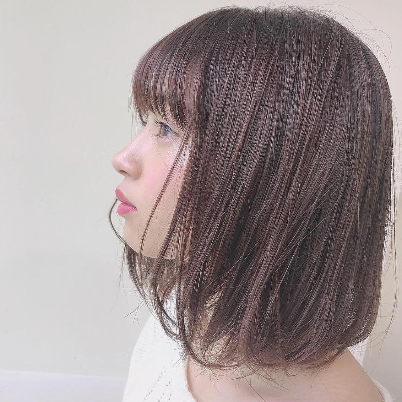 ボブ ナチュラル デート 愛され ヘアスタイルや髪型の写真・画像   矢野佑太郎 / GARDEN harajuku