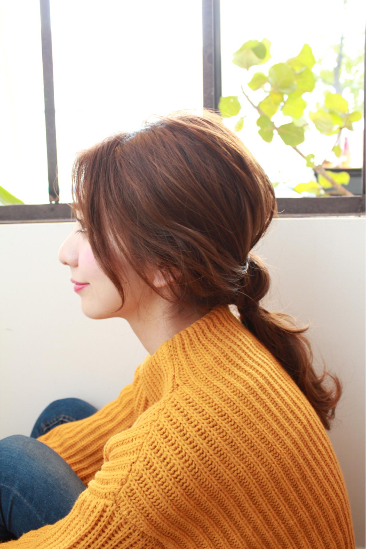 ロング ヘアアレンジ 大人かわいい ショートヘアスタイルや髪型の写真・画像