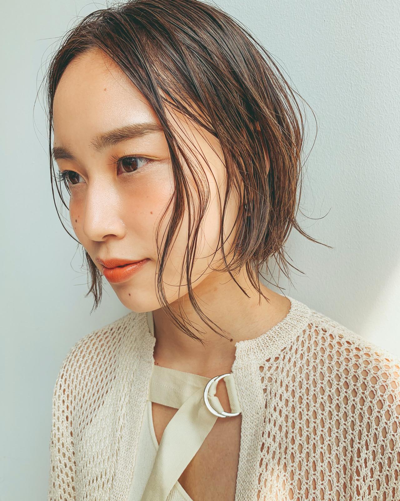 スポーツ ナチュラル オフィス デート ヘアスタイルや髪型の写真・画像 | YUJI / LIICHI / LIICHI (リイチ)