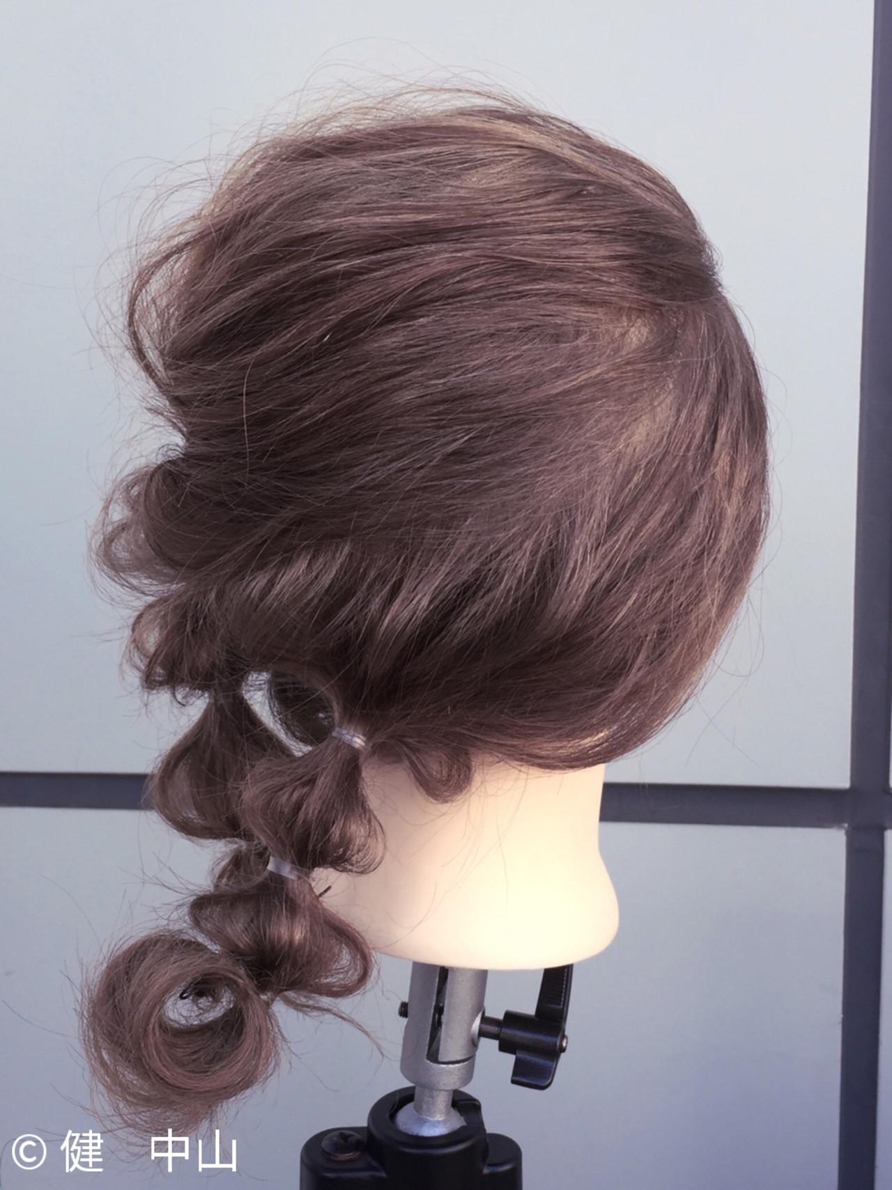 アッシュ セミロング ショート 大人女子 ヘアスタイルや髪型の写真・画像 | ken / sora