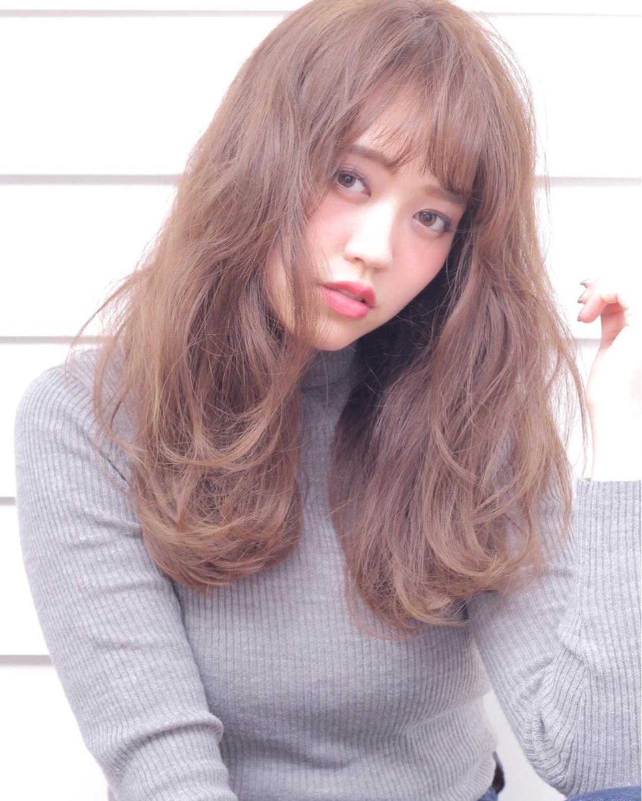ミディアム パーマ ナチュラル 外国人風 ヘアスタイルや髪型の写真・画像 | 石田 学史 / DISHEL