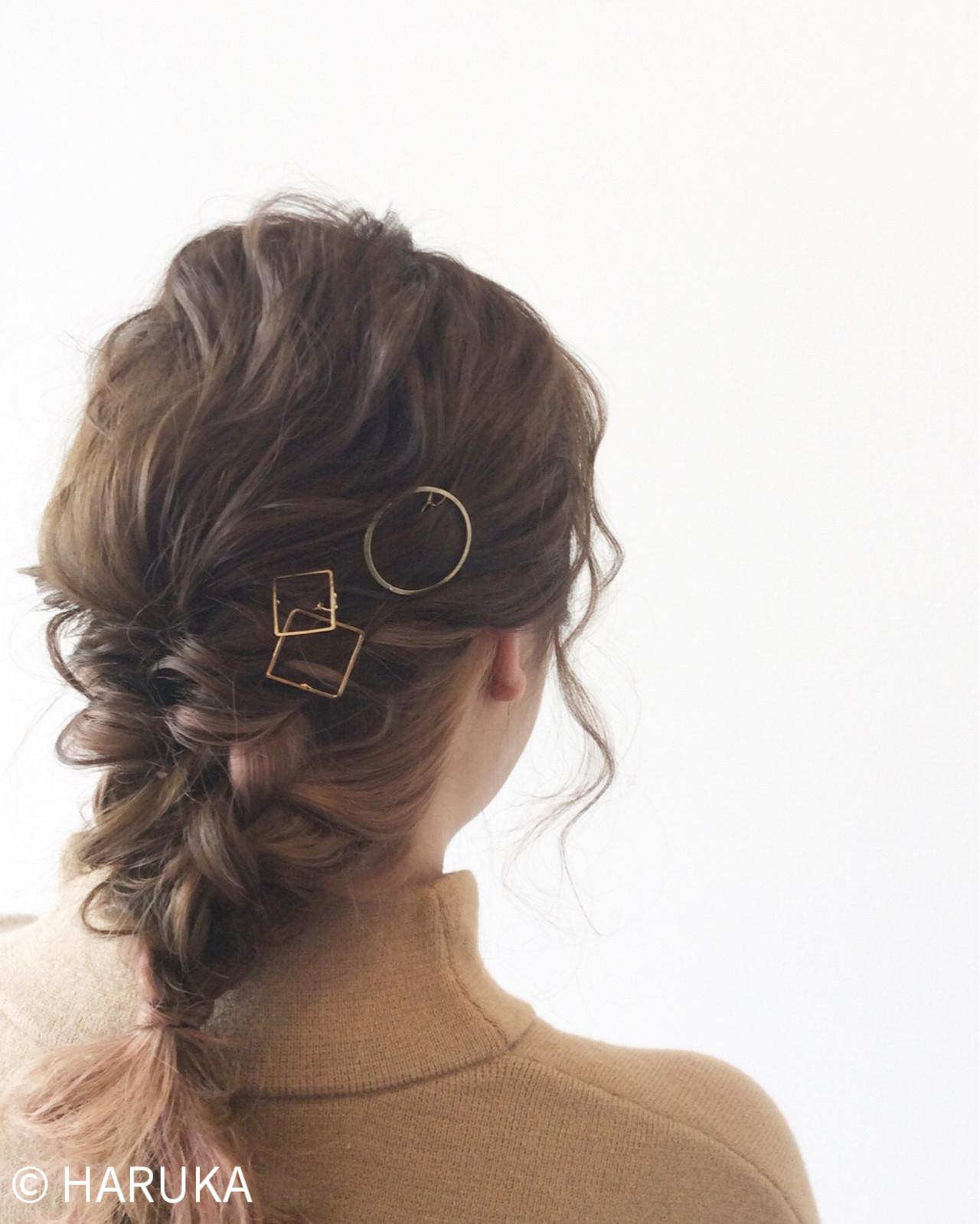 ショート ハイライト ボブ ストリートヘアスタイルや髪型の写真・画像