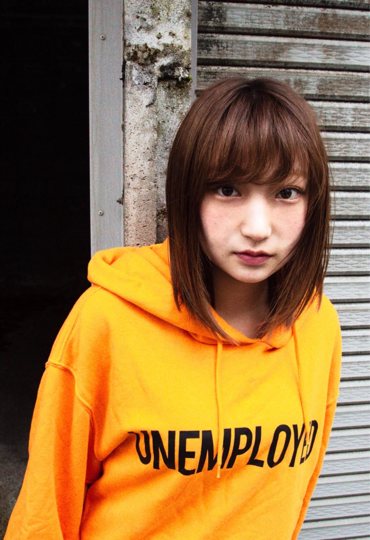 前髪あり ストリート 抜け感 ラフ ヘアスタイルや髪型の写真・画像   ニシモリ ショウヘイ / 583koyomi