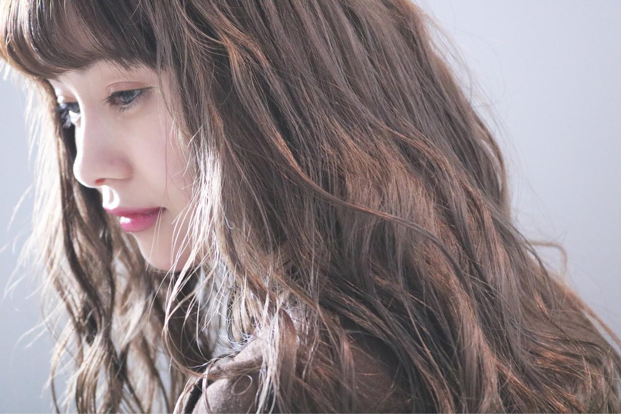 アンニュイほつれヘア ナチュラル ヘアアレンジ ロング ヘアスタイルや髪型の写真・画像 | 上田智久 / ooit 福岡 天神 / ooit