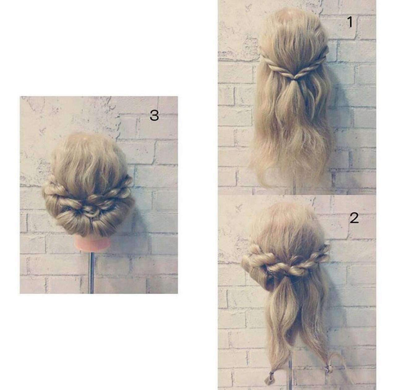 ロング 渋谷系 ヘアアレンジ パーティ ヘアスタイルや髪型の写真・画像 | 廣田哲也 / nalu hair