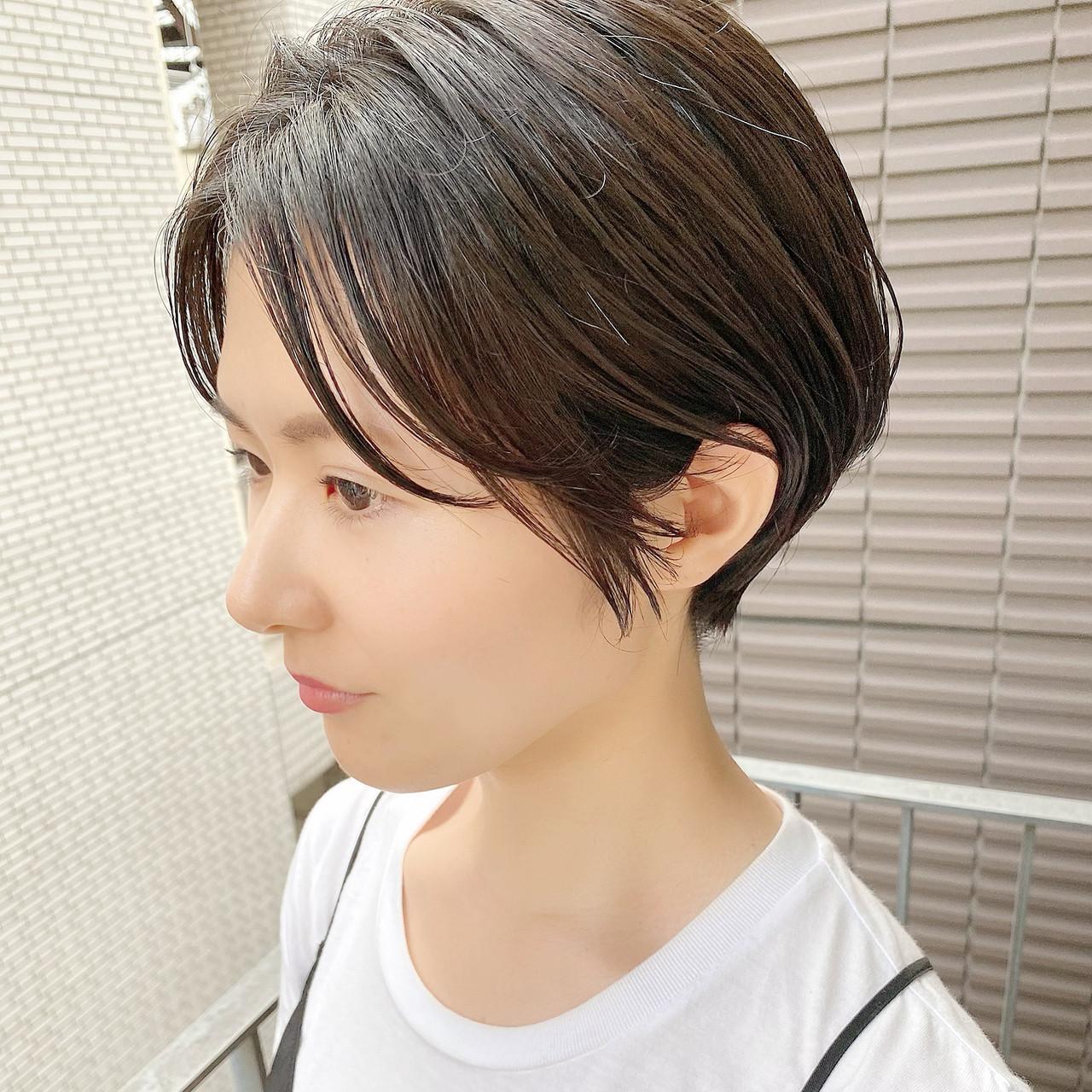 ショートヘア ショートボブ デート ショート ヘアスタイルや髪型の写真・画像 | 大人可愛い【ショート・ボブが得意】つばさ / VIE