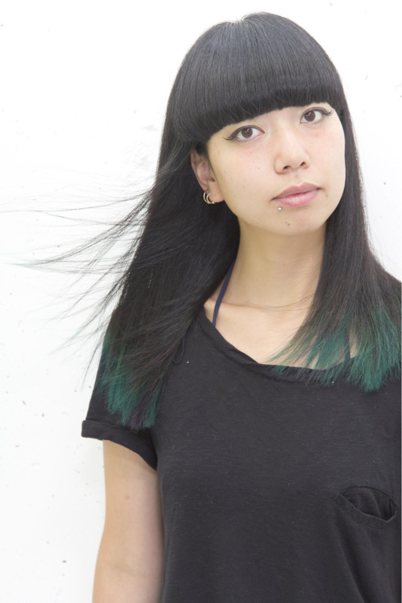 大注目の暗髪×グラデーションまとめ♡ポイントは毛先とハイライト sowi 阿部 辰也