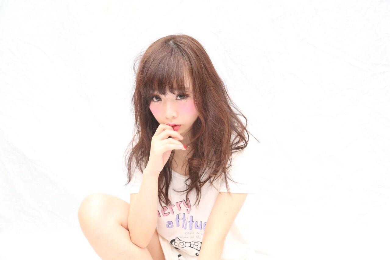 おフェロ ヘアアレンジ 暗髪 かわいいヘアスタイルや髪型の写真・画像
