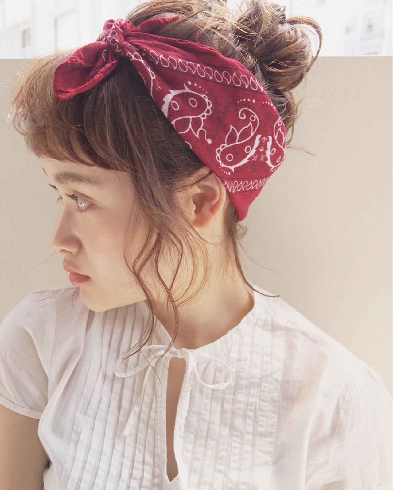 簡単ヘアアレンジ 外国人風 ミディアム 大人かわいい ヘアスタイルや髪型の写真・画像 | UEKI/nanuk / nanuk二子玉川