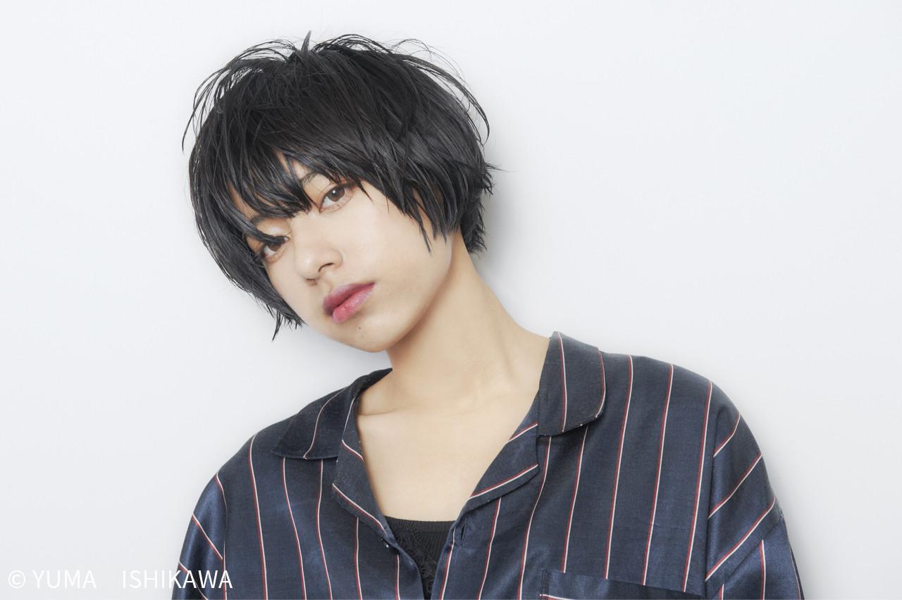 ジェンダーレス女子は中性的な髪型が決め手♡テイスト別にスタイル紹介! YUMA ISHIKAWA