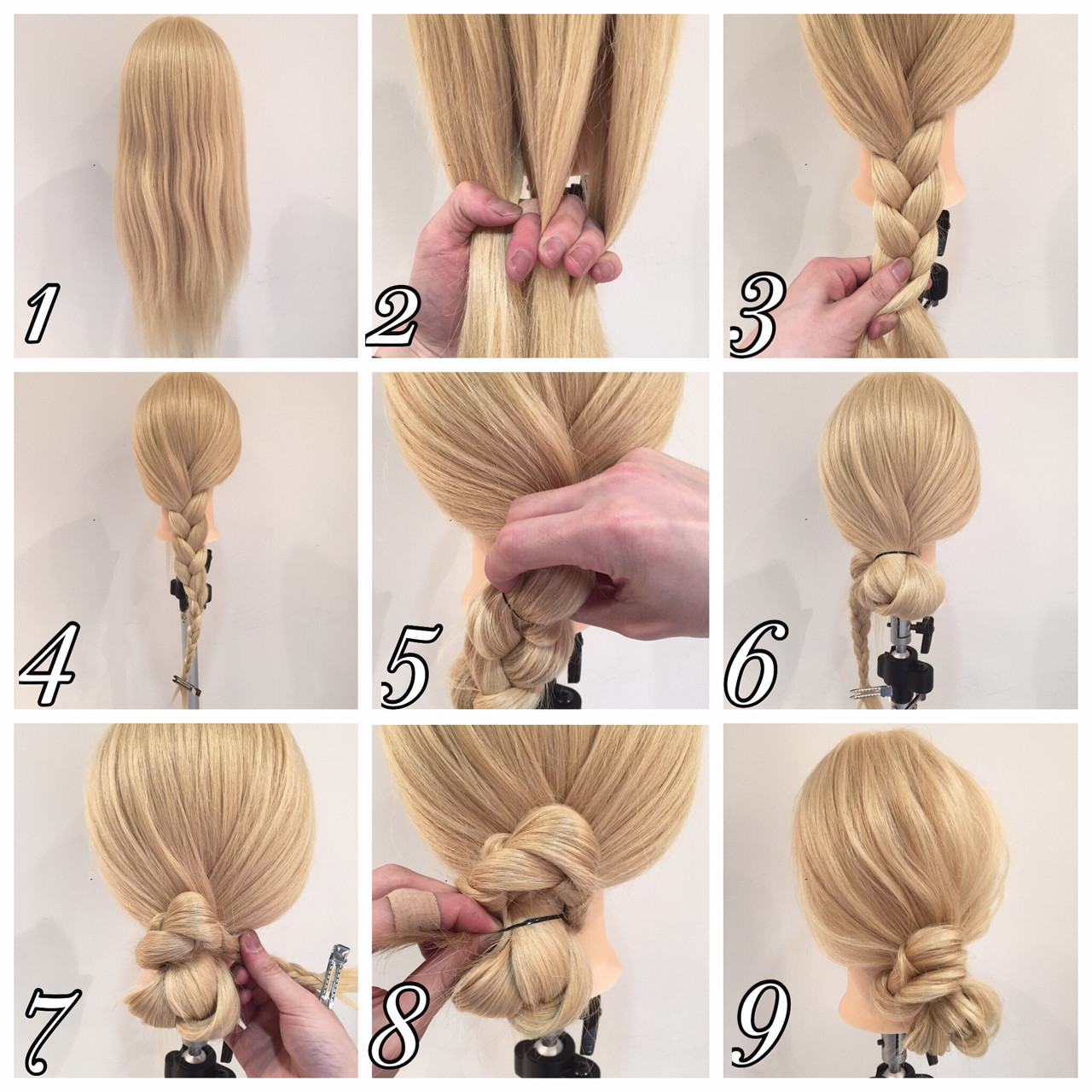 ヘアアレンジ ロング 波ウェーブ メッシーバンヘアスタイルや髪型の写真・画像