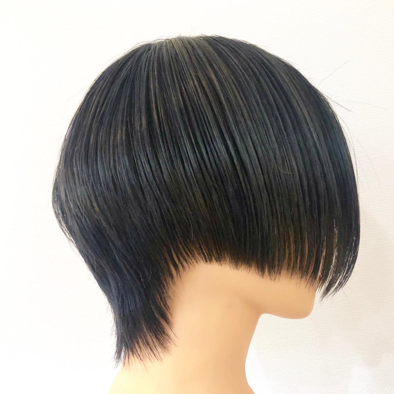 ハンサムショート ショート ショートヘア ブリーチオンカラーヘアスタイルや髪型の写真・画像