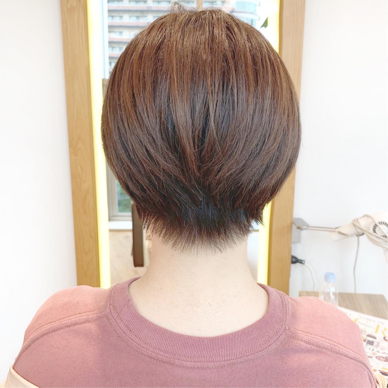 デート スポーツ ショート オフィス ヘアスタイルや髪型の写真・画像   ショートヘア美容師 #ナカイヒロキ / 『send by HAIR』