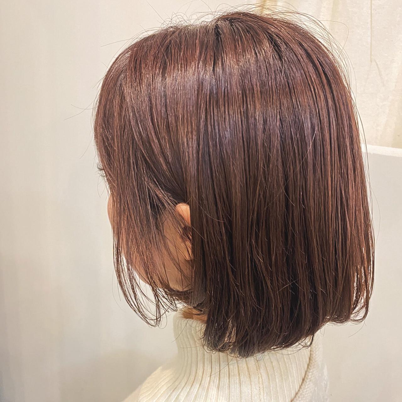 大人可愛い 大人かわいい ピンクアッシュ フェミニンヘアスタイルや髪型の写真・画像
