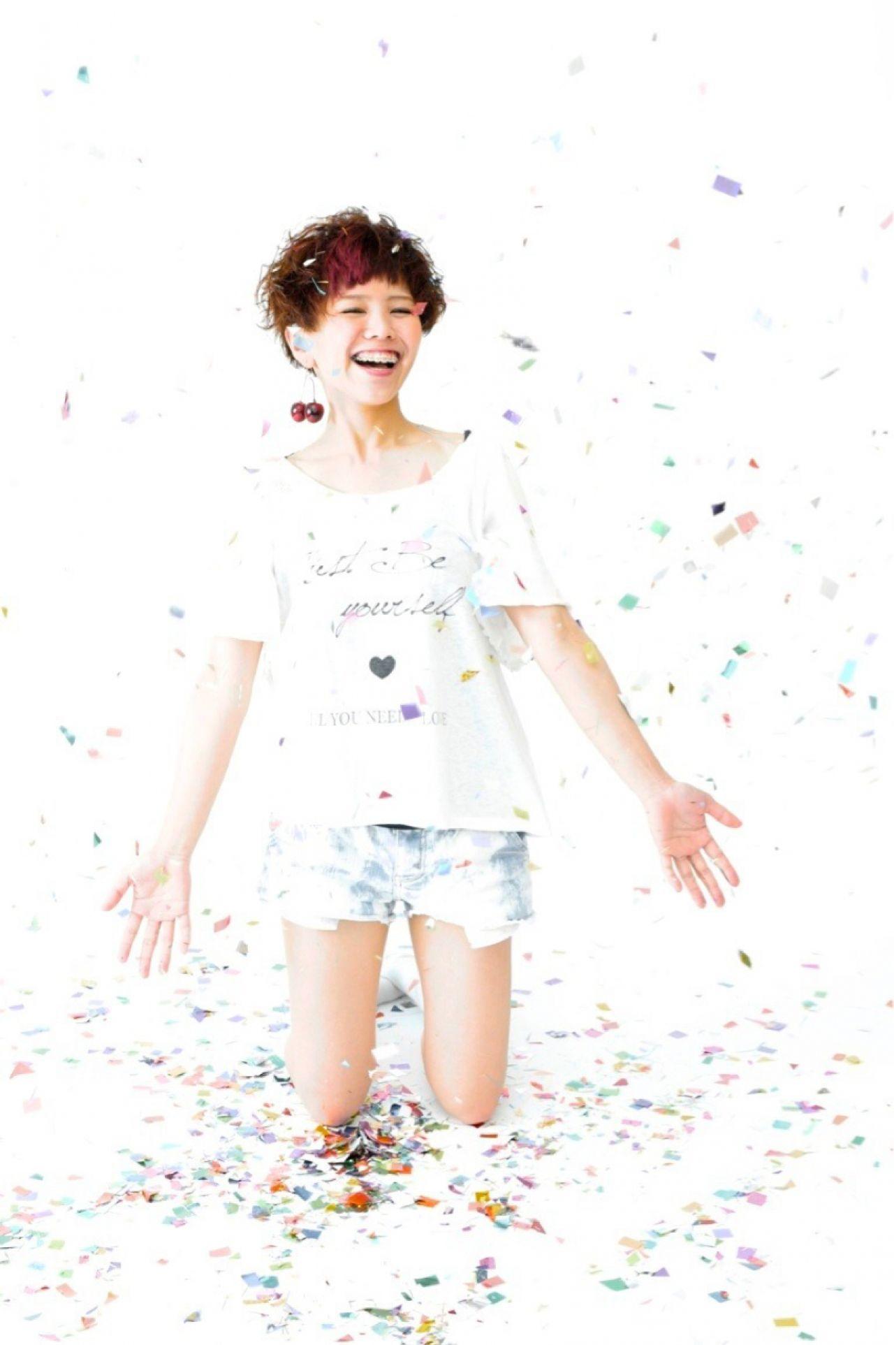サロン「es」のスタイリスト、上村コウイチさんの作品がめちゃくちゃかわいい♡ 上村 コウイチ / es