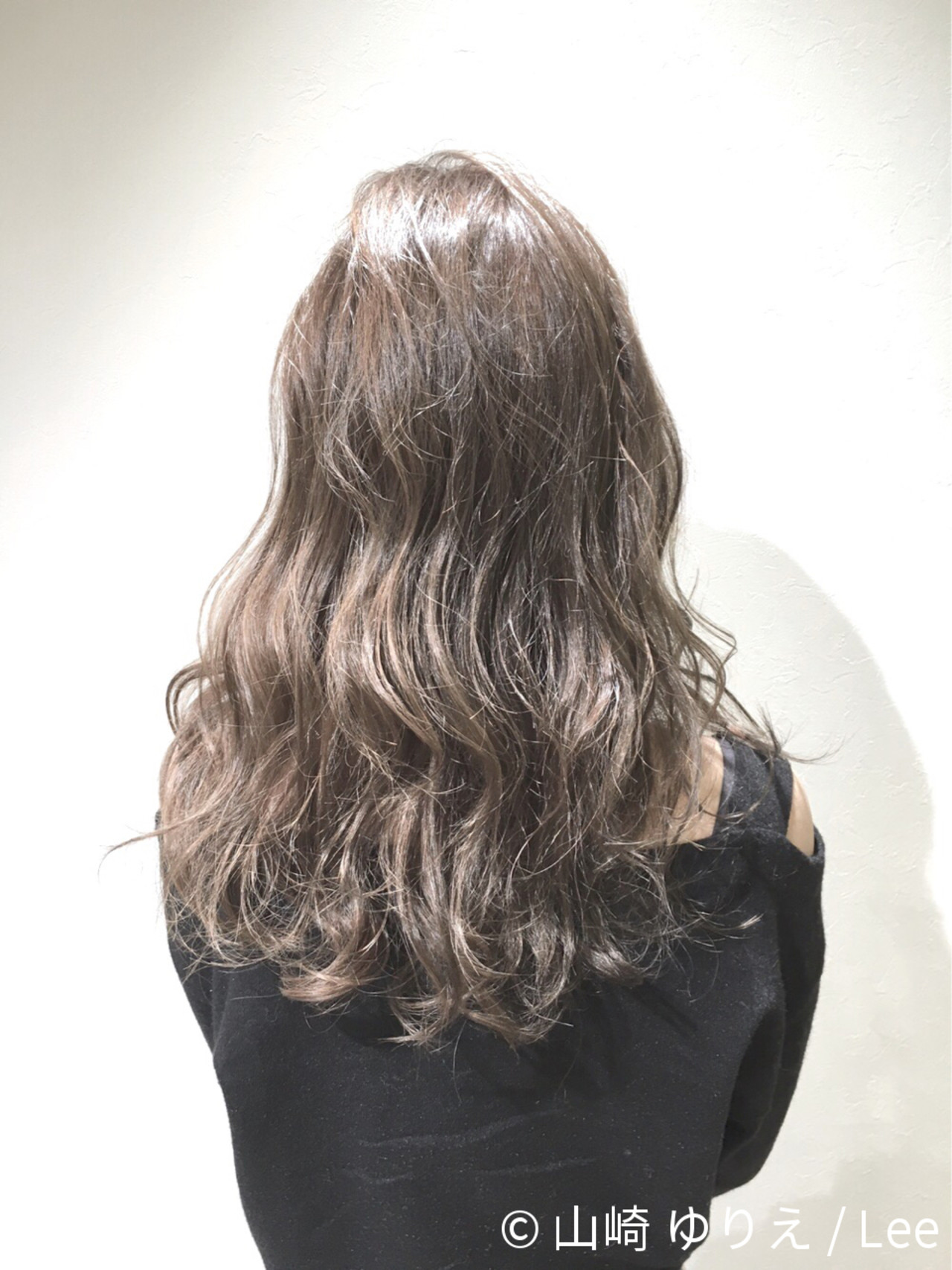 外国人風 ロング 暗髪 ストリート ヘアスタイルや髪型の写真・画像 | 山崎 ゆりえ / Lee / lee東大阪