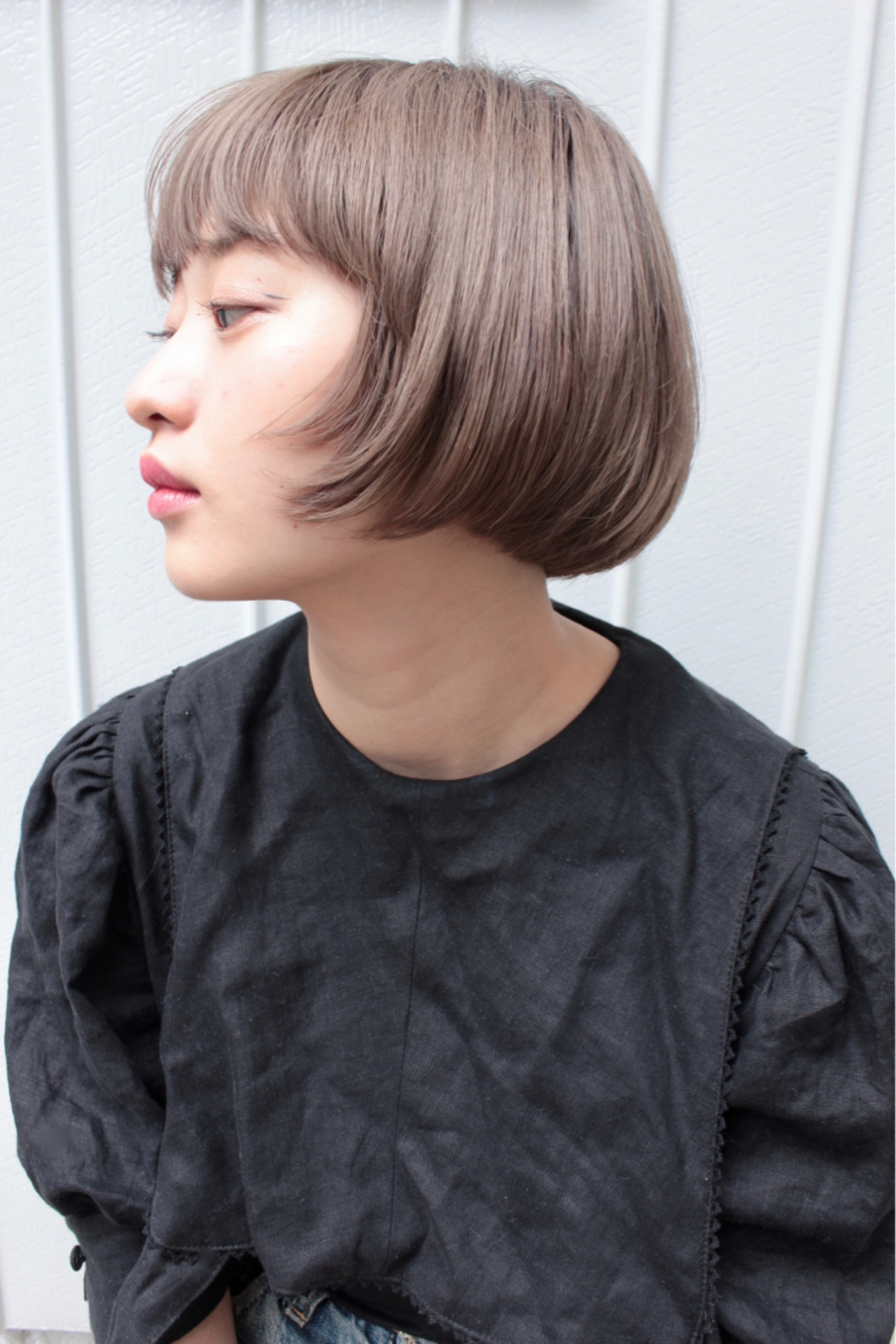 抜け感 前髪あり ナチュラル 簡単ヘアアレンジヘアスタイルや髪型の写真・画像
