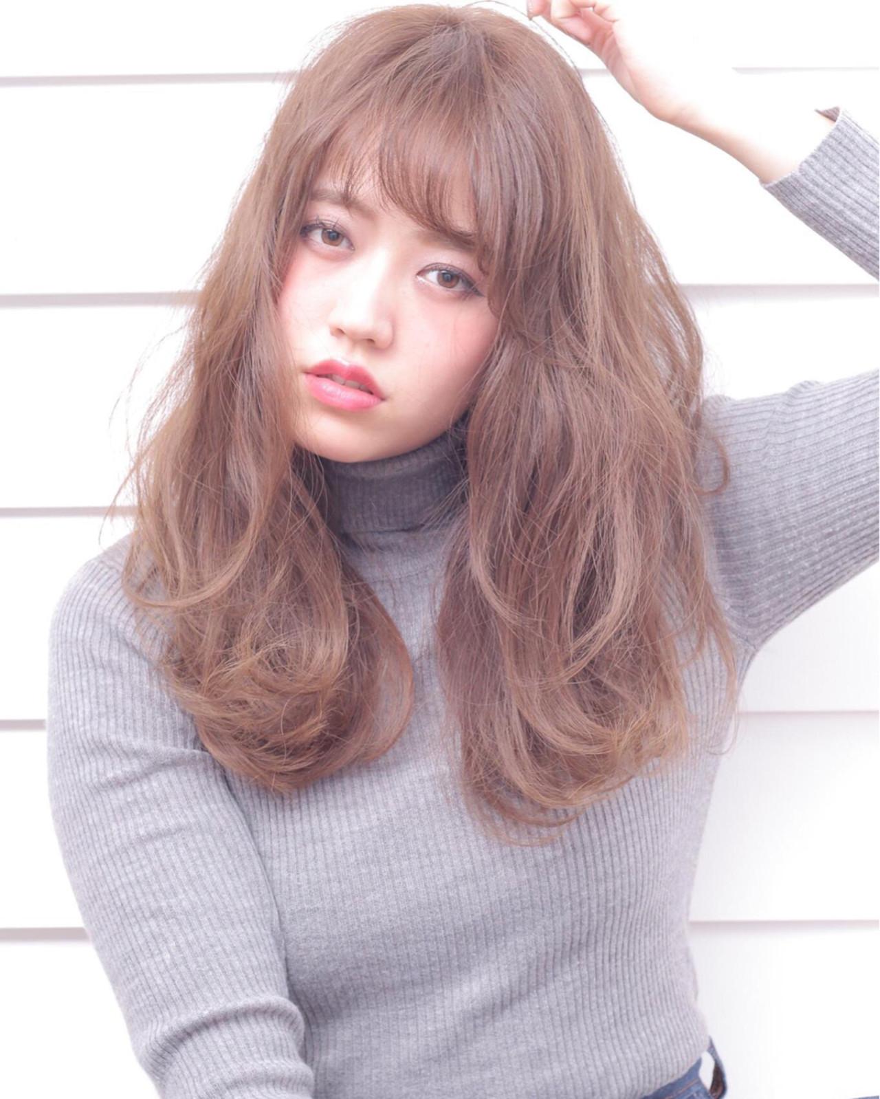 ミディアム パーマ 外国人風 ナチュラル ヘアスタイルや髪型の写真・画像 | 石田 学史 / DISHEL