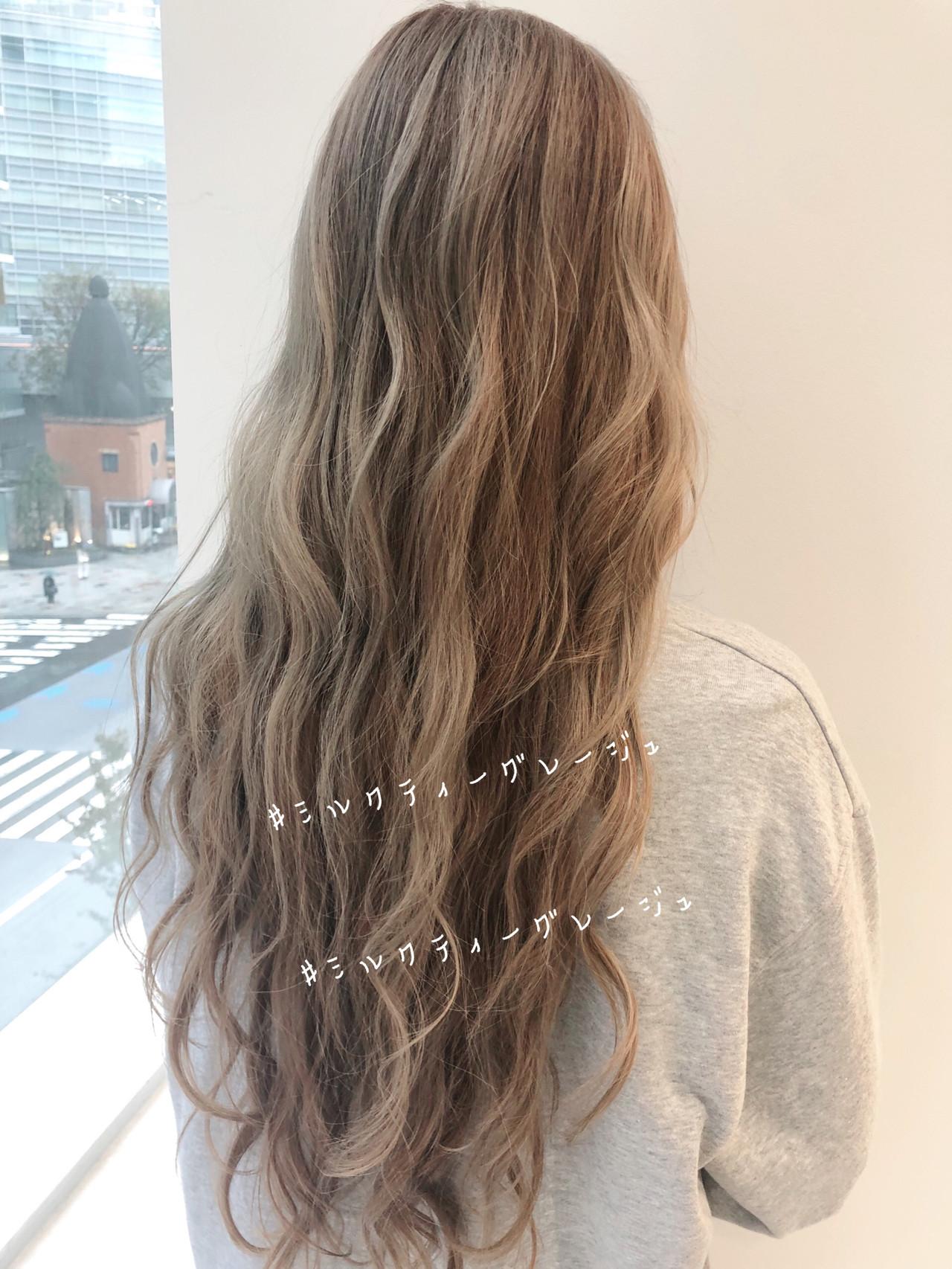 ヘアアレンジ ナチュラル ロング インナーカラー ヘアスタイルや髪型の写真・画像 | 北村 亮 / Lano by HAIR