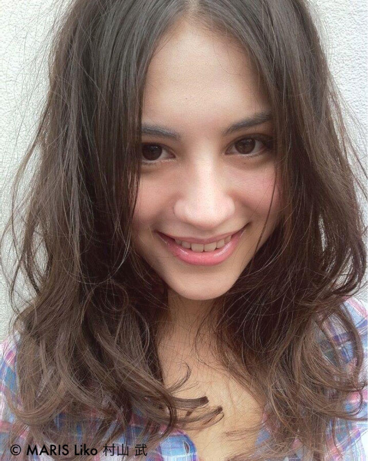 モテ髪 ヘアアレンジ 外国人風カラー フェミニンヘアスタイルや髪型の写真・画像