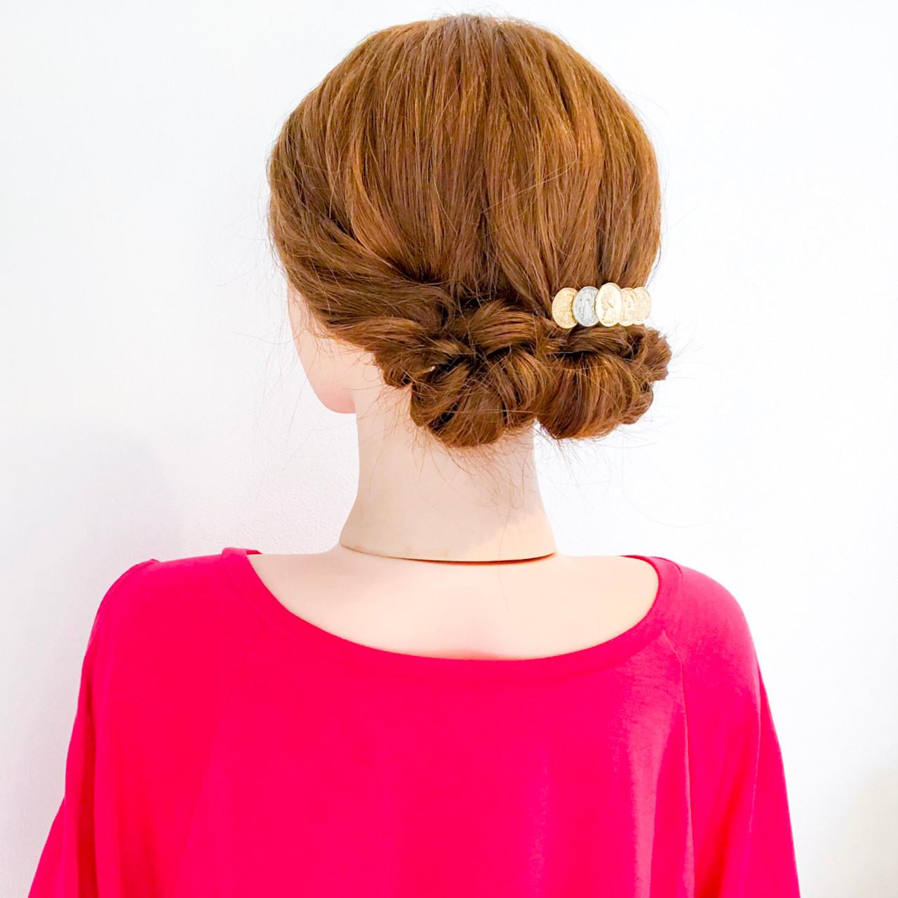 結婚式 簡単ヘアアレンジ オフィス 涼しげ ヘアスタイルや髪型の写真・画像 | 美容師HIRO/Amoute代表 / Amoute/アムティ