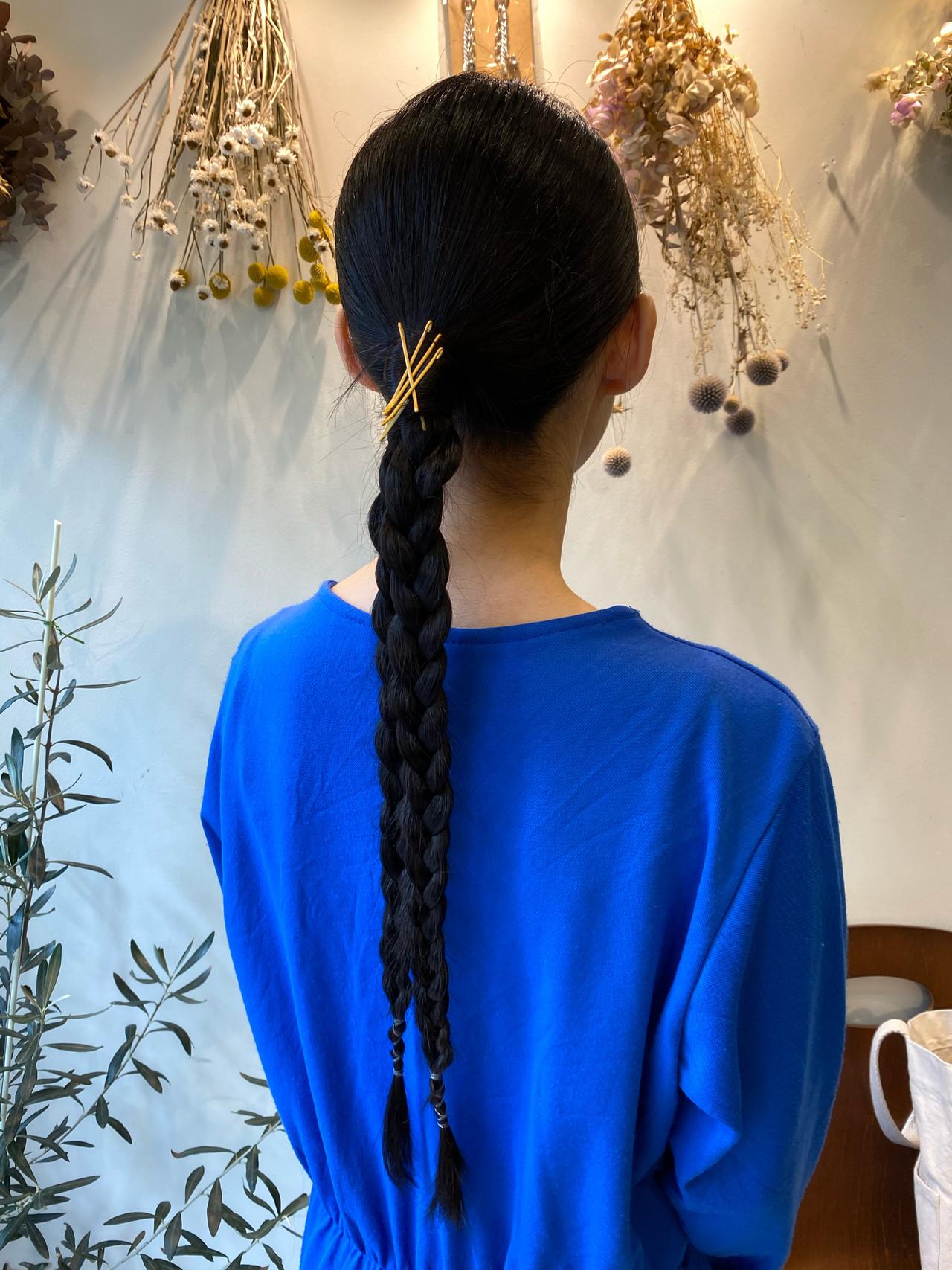 ナチュラル 大人可愛い ヘアアレンジ ロング ヘアスタイルや髪型の写真・画像
