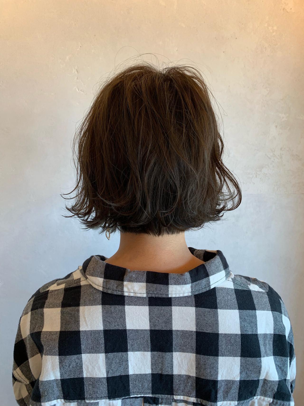 アンニュイほつれヘア パーマ パーマ ヘアスタイルや髪型の写真・画像   マツモト マサミ / Belle BIANCA