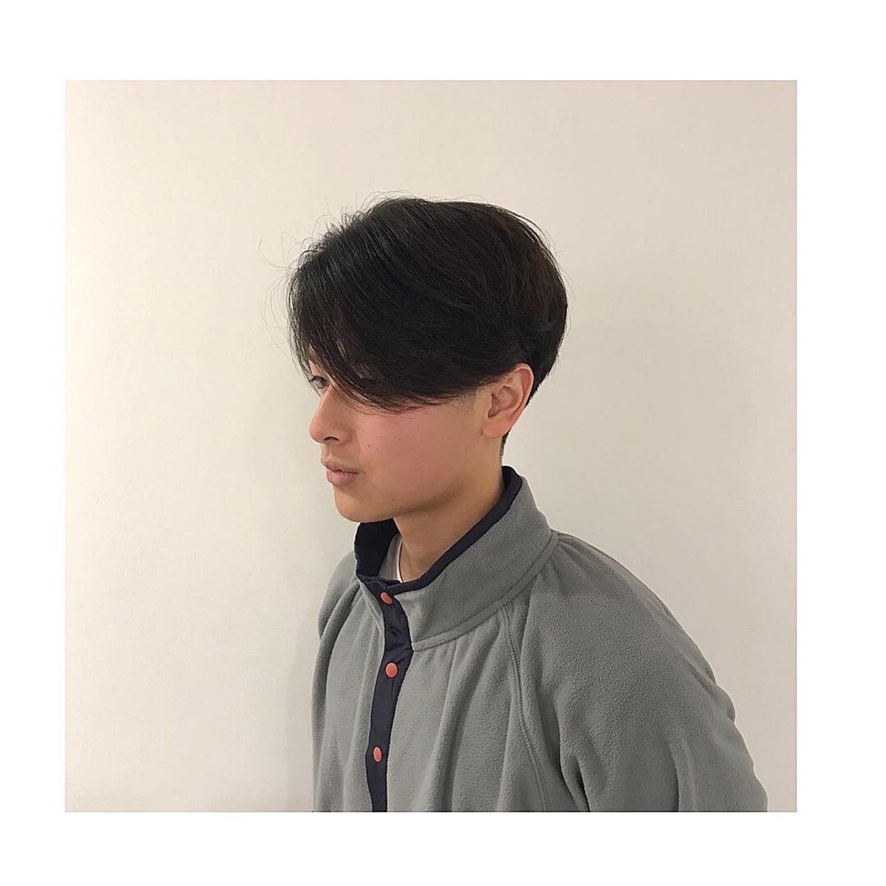 センターパート メンズ メンズヘア メンズカット ヘアスタイルや髪型の写真・画像   メンズカット専門美容師 岩井優弥 / カキモトアームズ メンズグルーミングサロン 銀座二丁目店