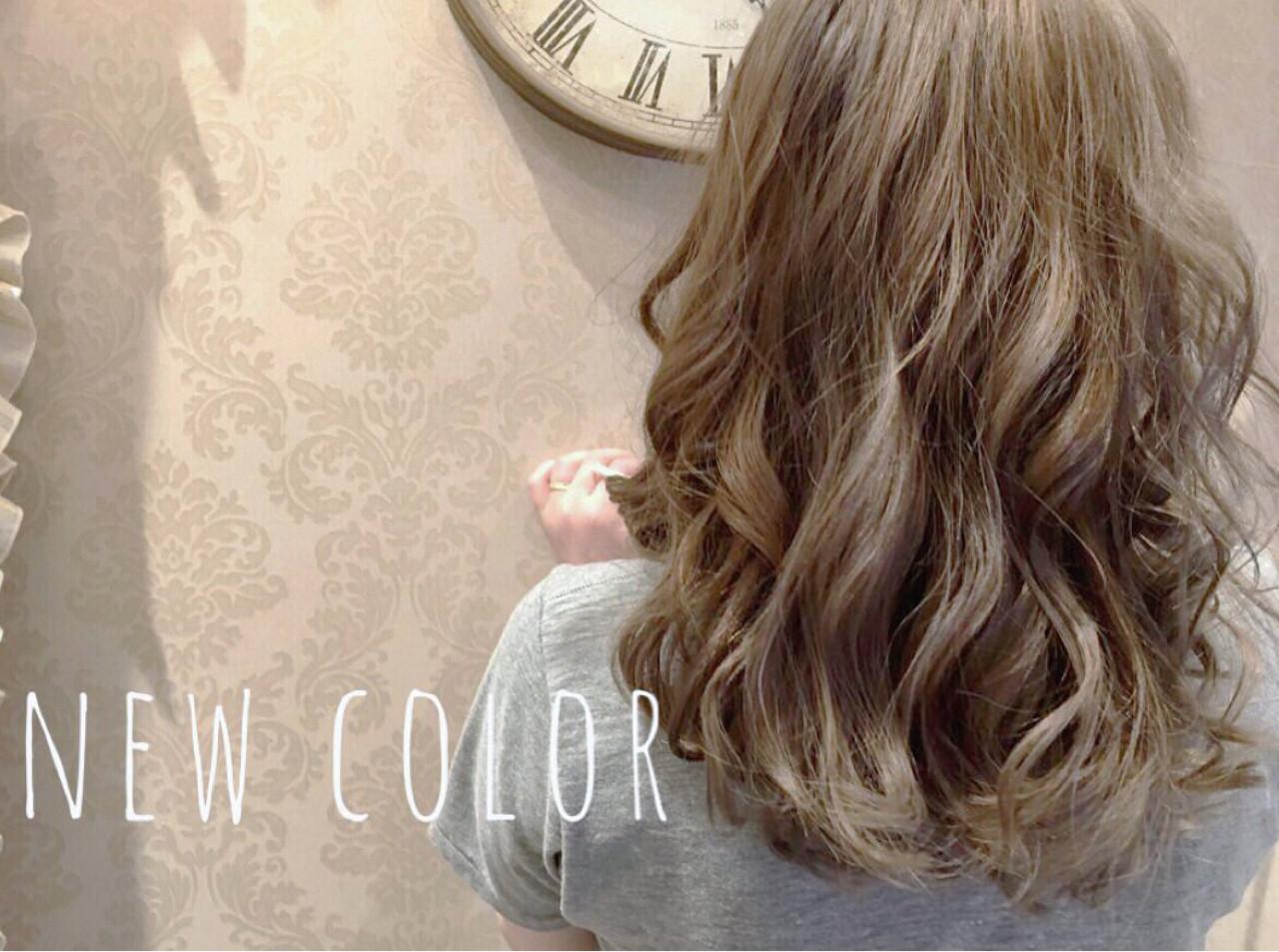 外国人風 ハイライト ストリート ミディアム ヘアスタイルや髪型の写真・画像   佐藤理彩 / Hair Design Laule'a