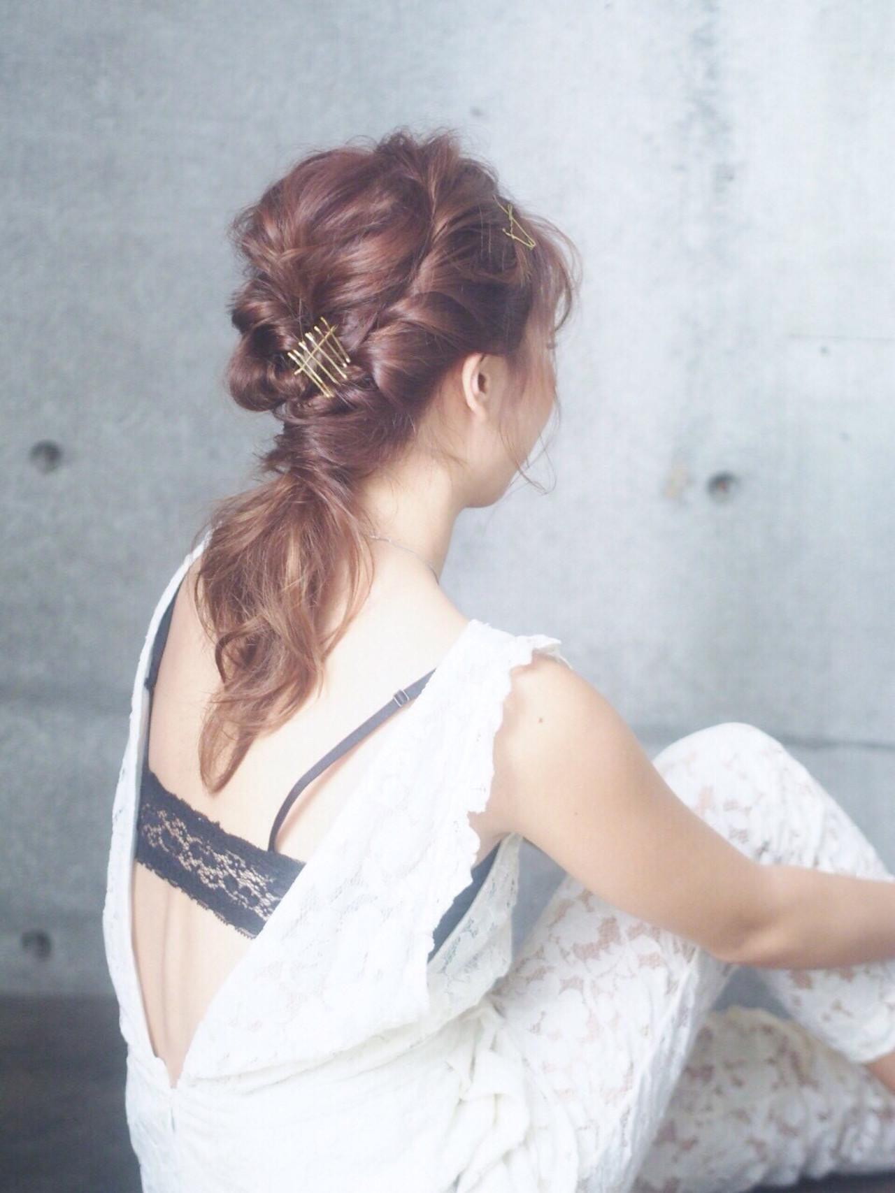 [詳しい方法付き]毎日をオシャレに飾りたい!誰でもできる簡単ヘアアレンジ特集 出典:秋山 優奈