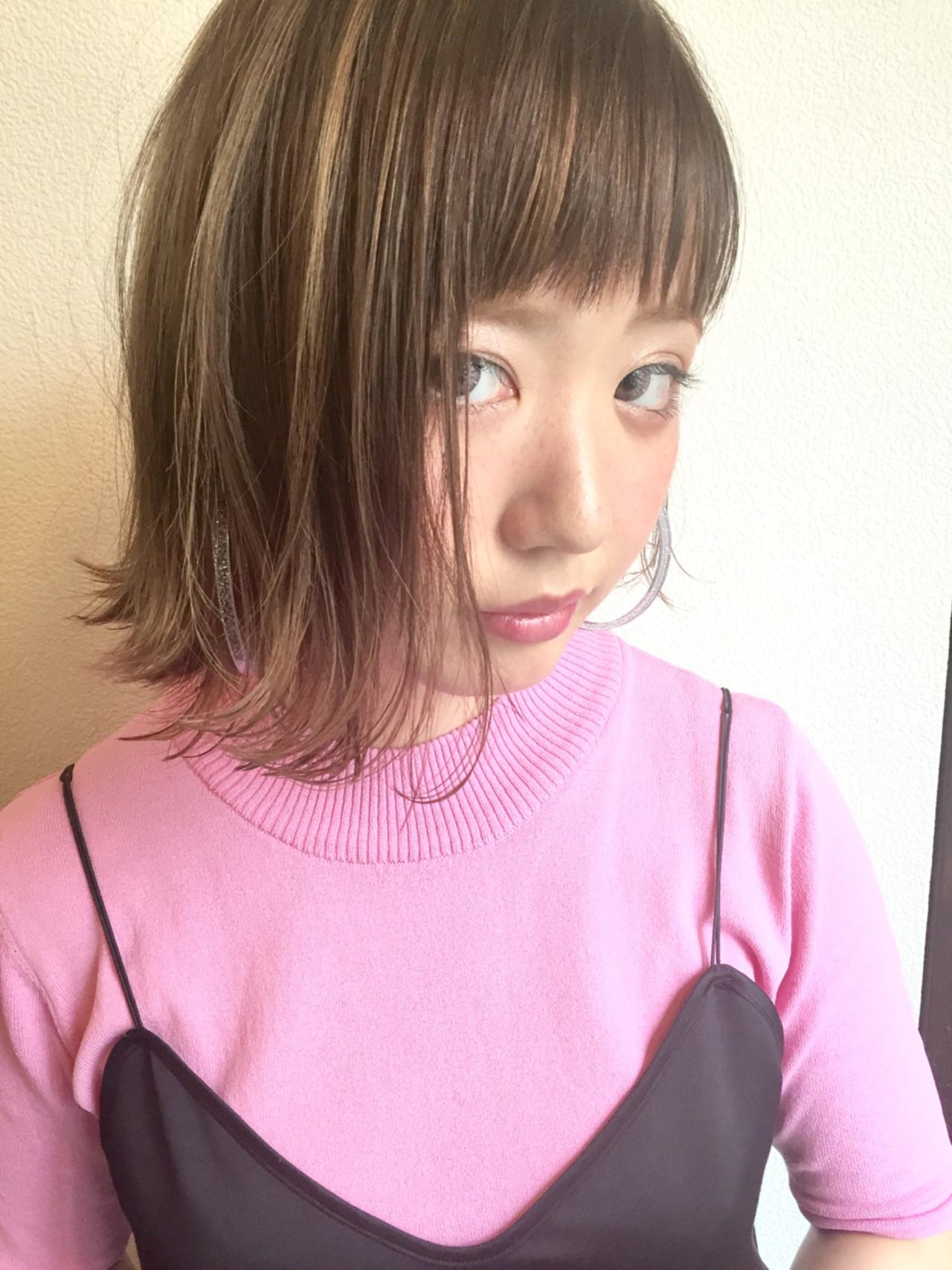 ズルいくらいに可愛いの♡ボブ×外ハネに「+○○」で最上級の私に。 田渕 英和 / vicushair